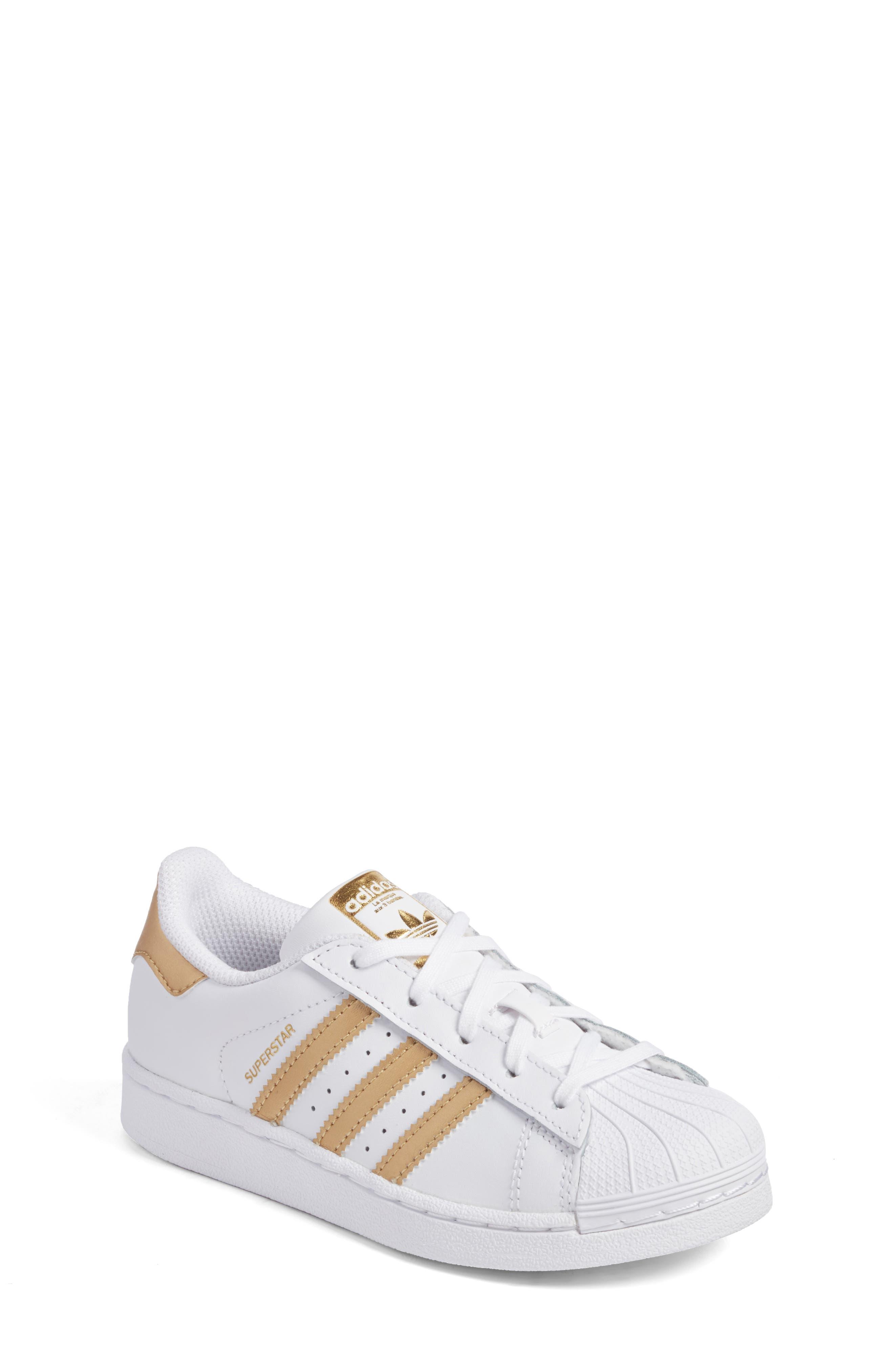 Alternate Image 1 Selected - adidas Superstar C Sneaker (Toddler & Little Kid)