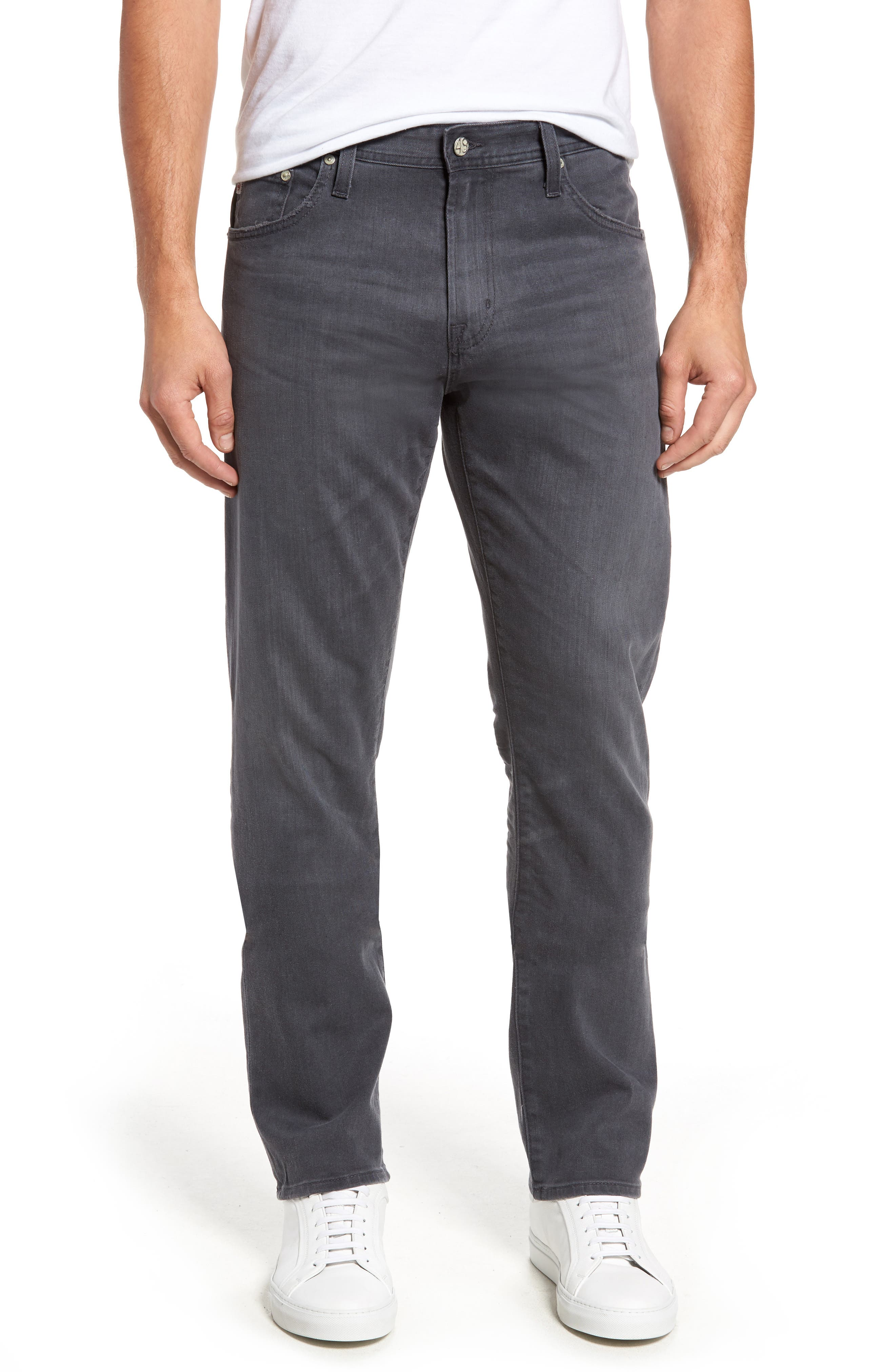Main Image - AG Ives Straight Leg Jeans (4 Years Vaulted)
