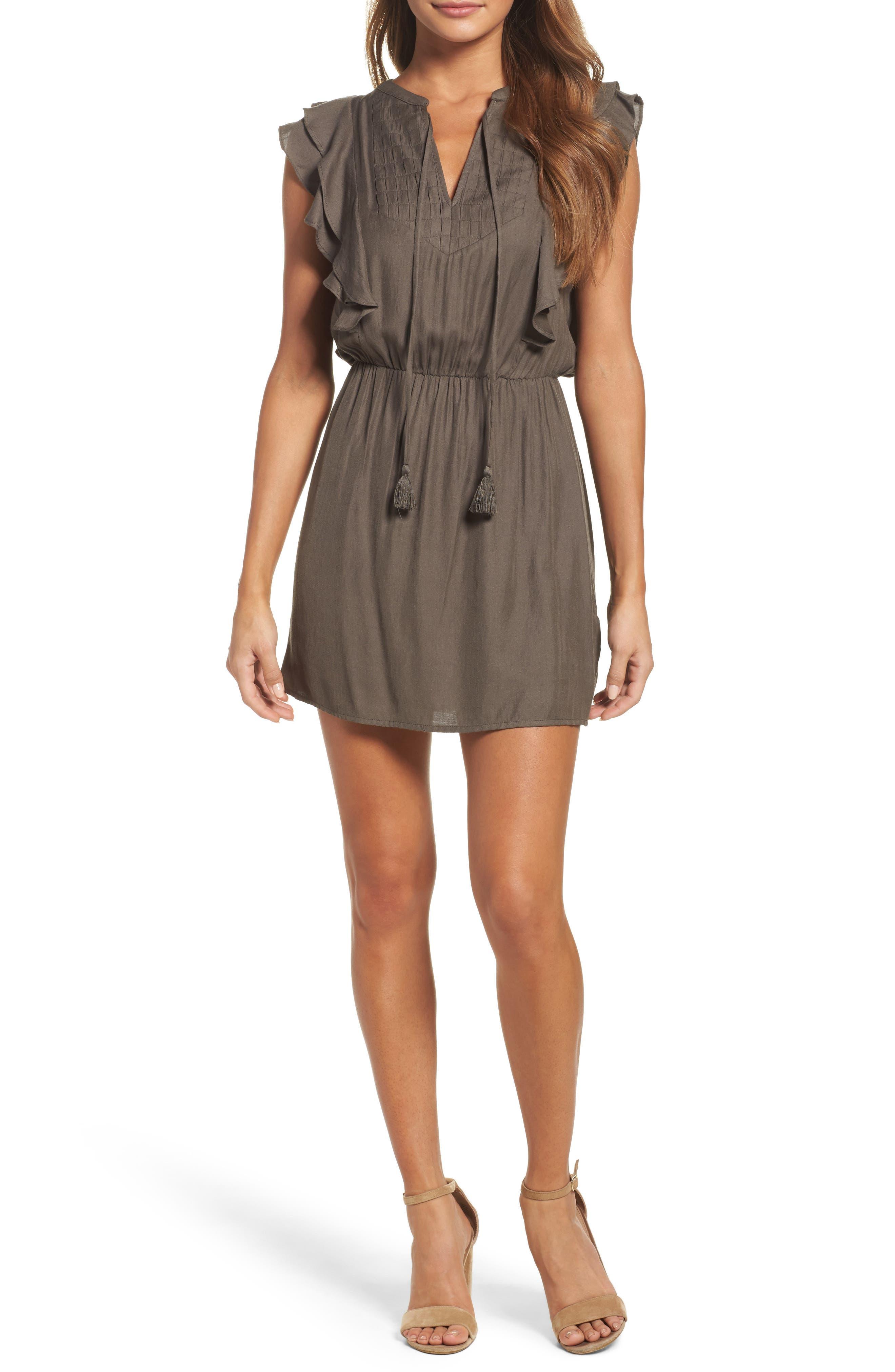 Greylin Trina Ruffle Dress