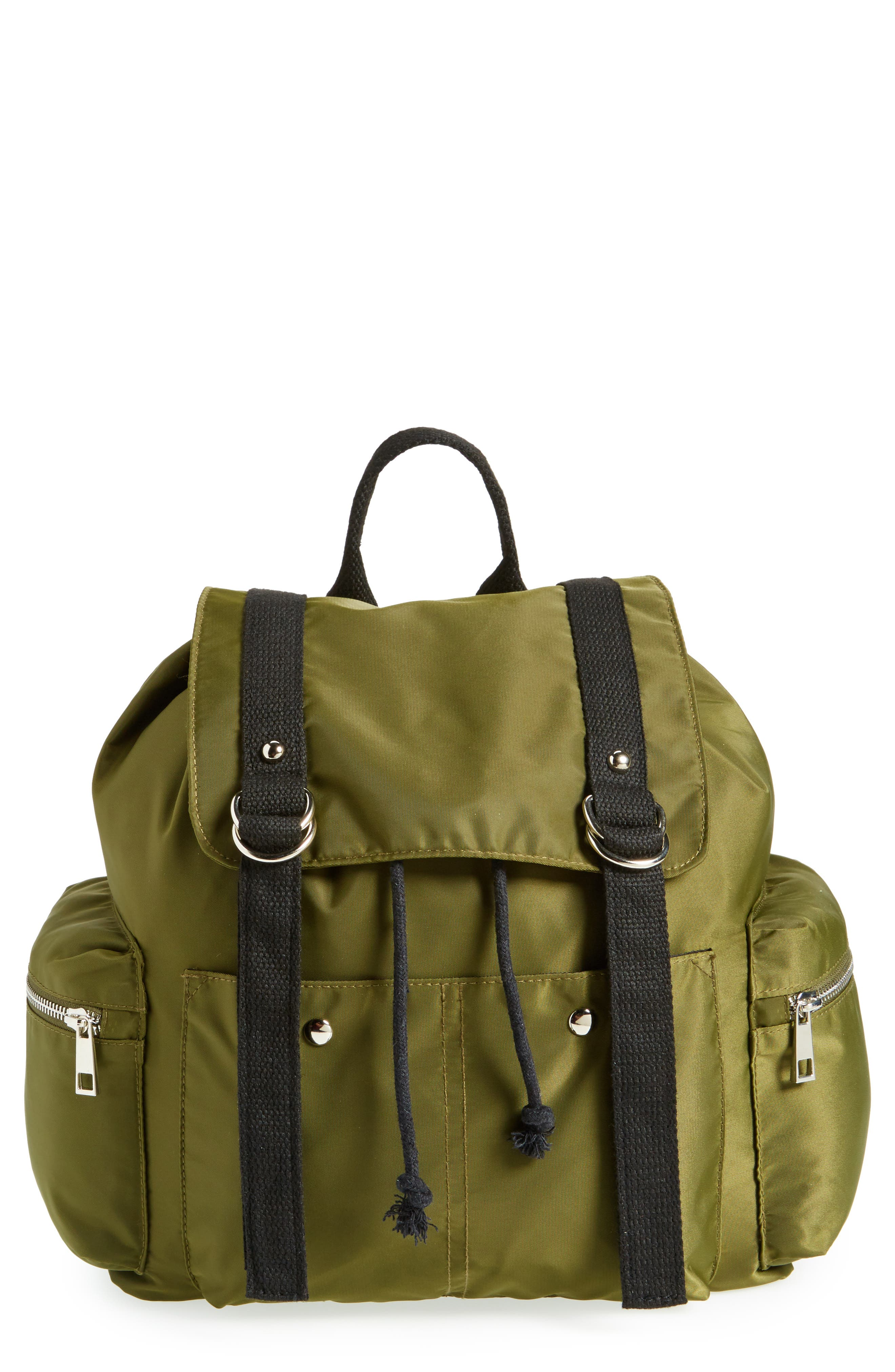 BP. Nylon Backpack