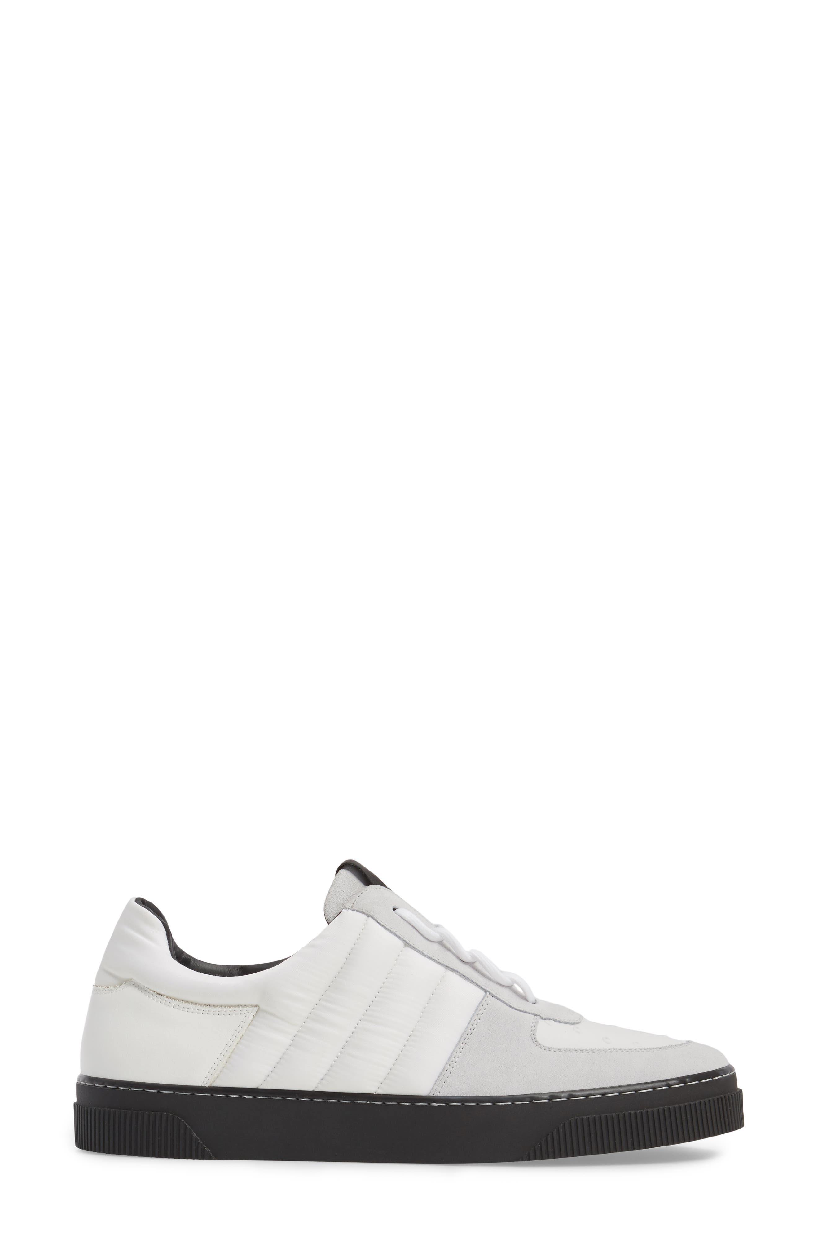 Sneaker,                             Alternate thumbnail 3, color,                             White