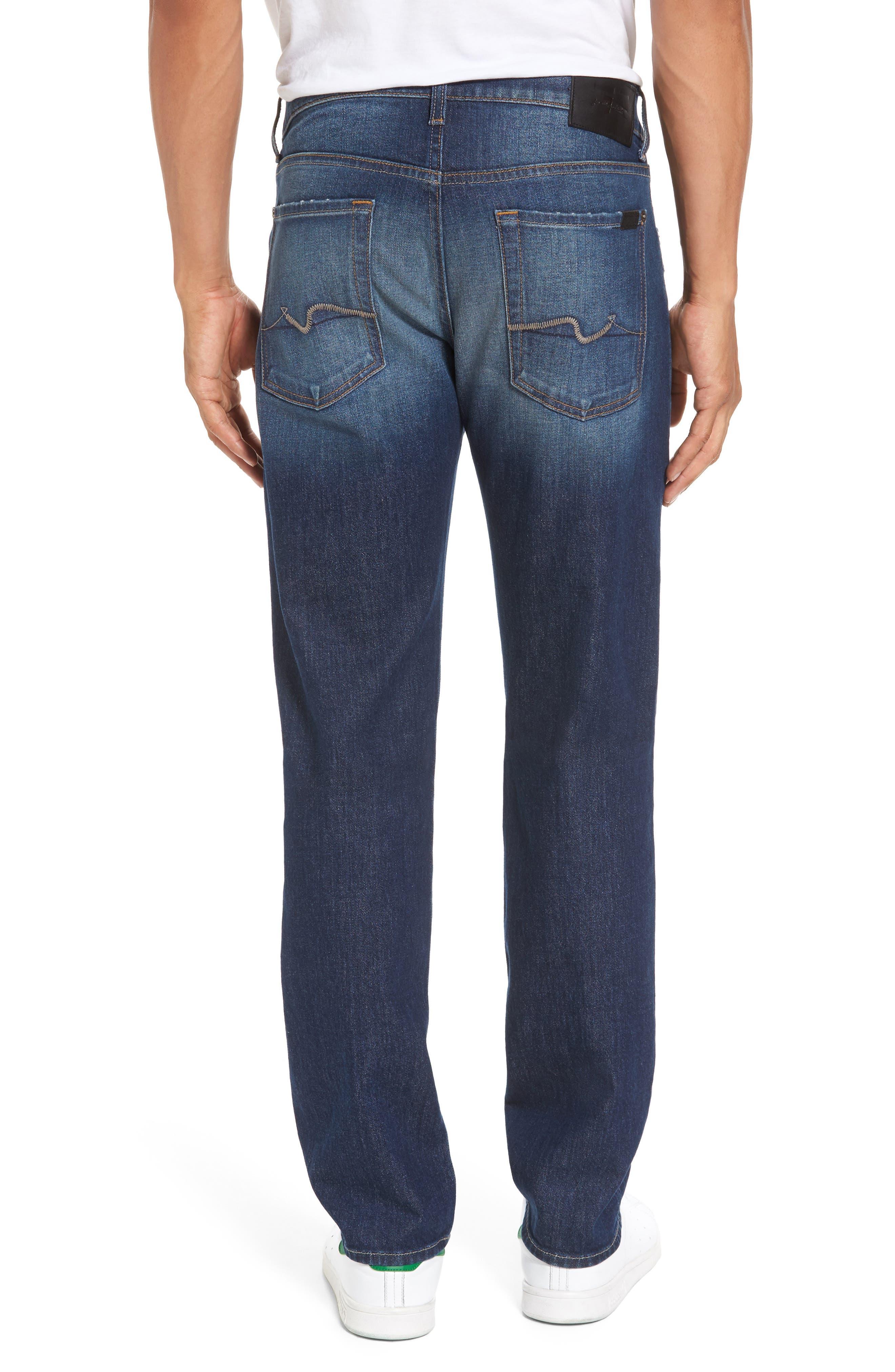 Alternate Image 2  - 7 For All Mankind® Slimmy Slim Fit Jeans (Venture)