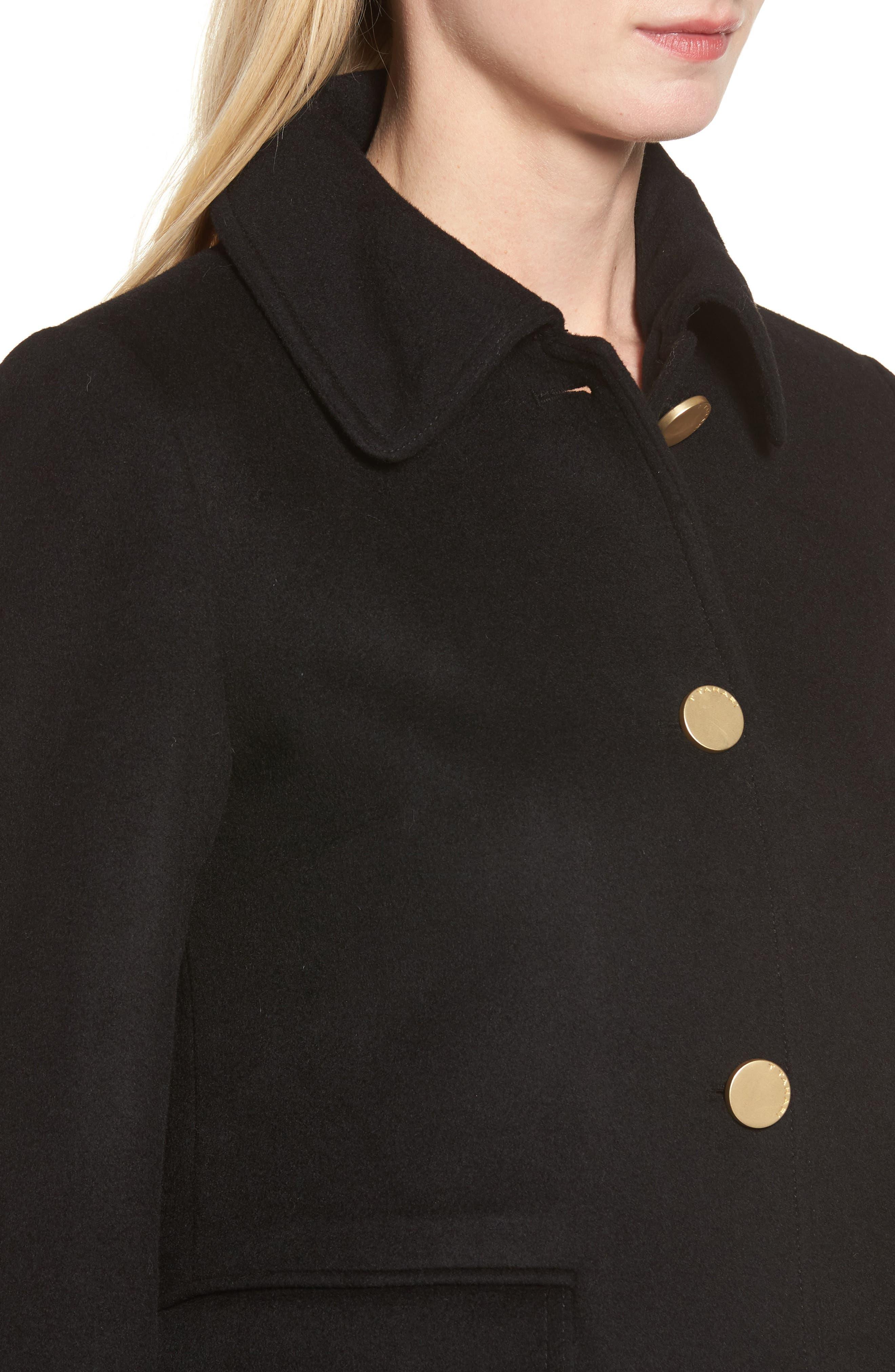 Alternate Image 4  - Tahari Sophia Wool A-Line Coat