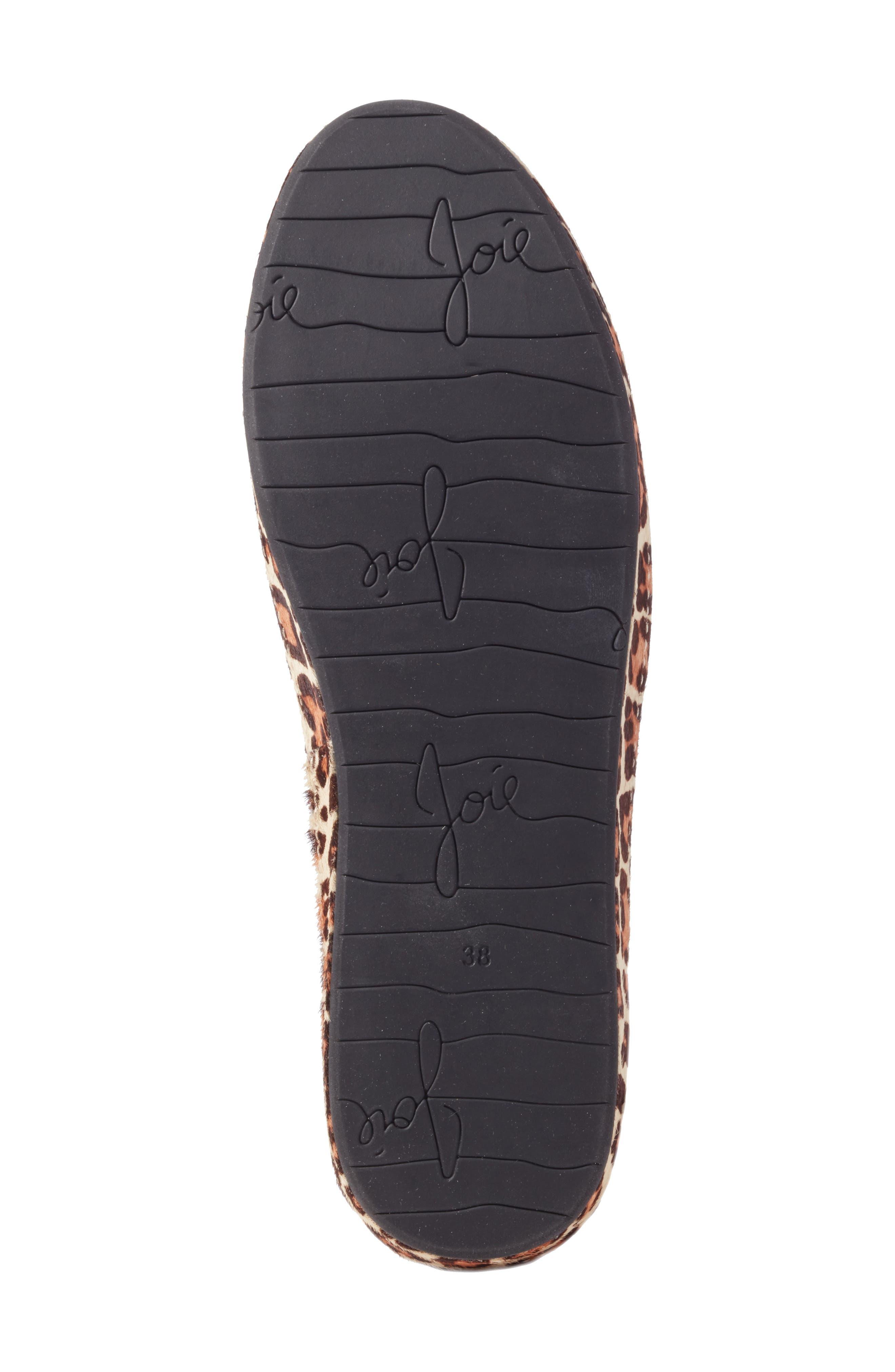 Alternate Image 6  - Joie Daryl Low Top Genuine Calf Hair Sneaker (Women)