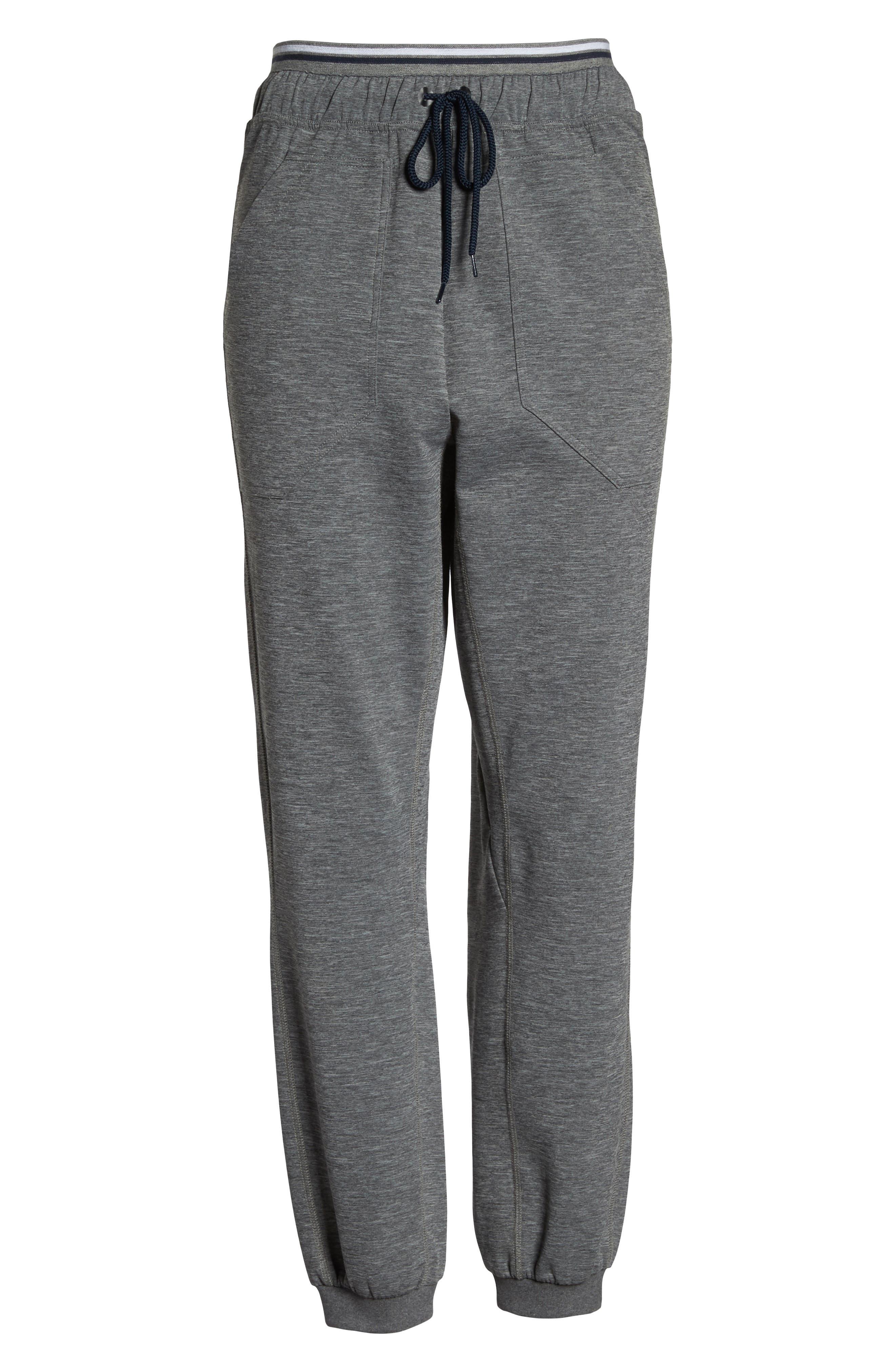 Circuit Track Pants,                             Alternate thumbnail 6, color,                             Grey Marl