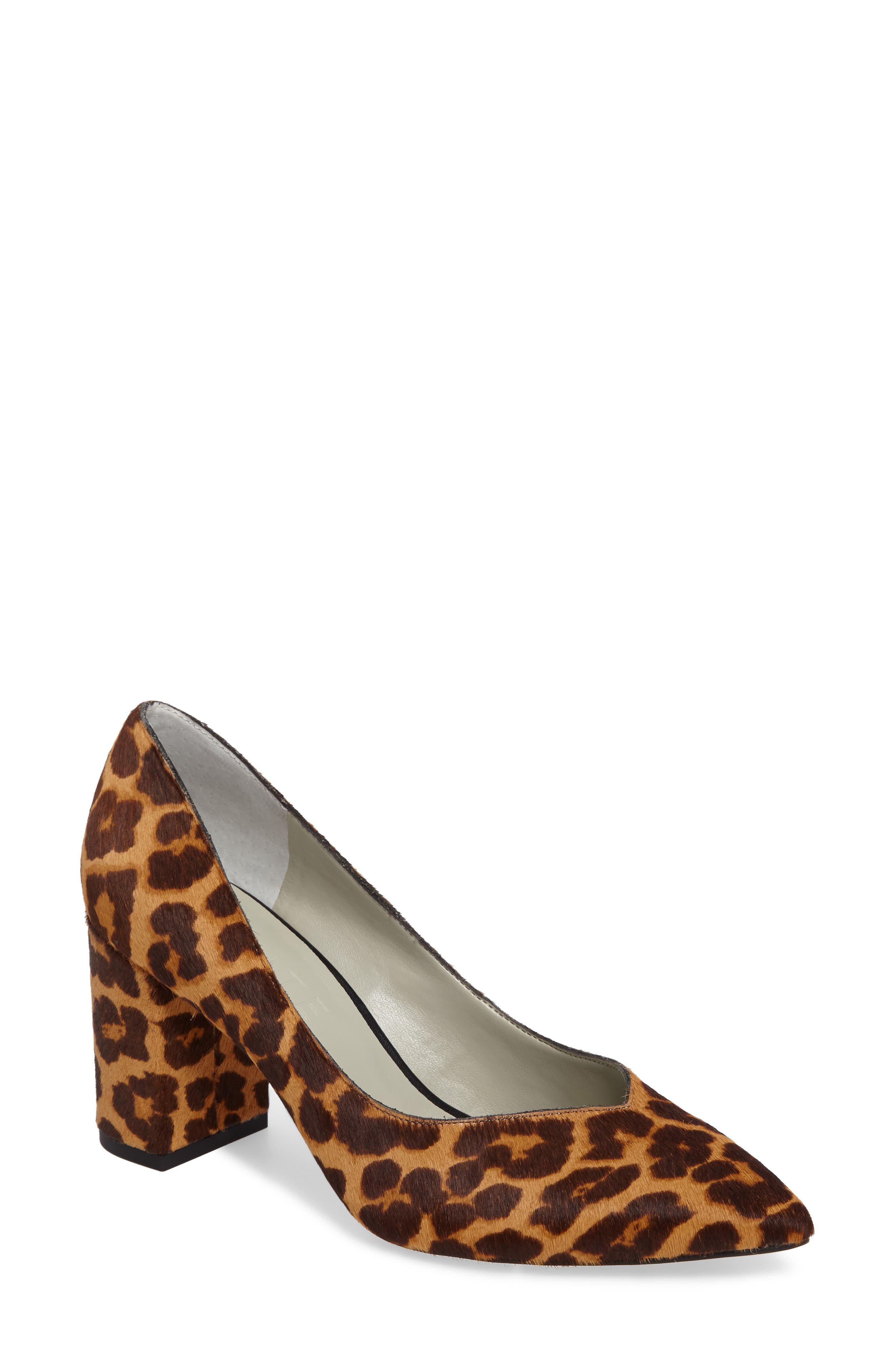 Alternate Image 1 Selected - 1.STATE Saffy 2 Genuine Calf Hair Pump (Women)