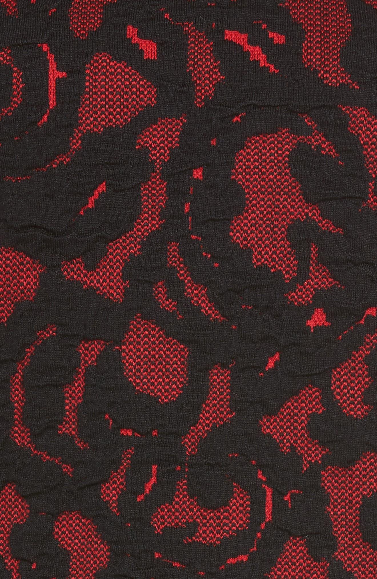 Alternate Image 5  - Ming Wang Lace Knit Tank