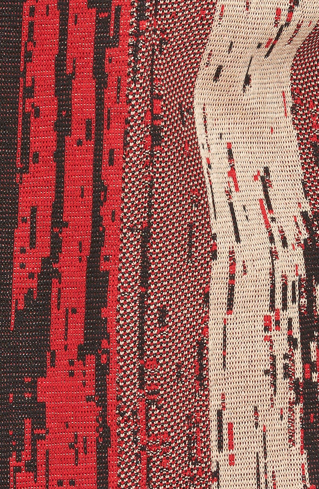 Alternate Image 5  - Ming Wang Jacquard Front Jacket