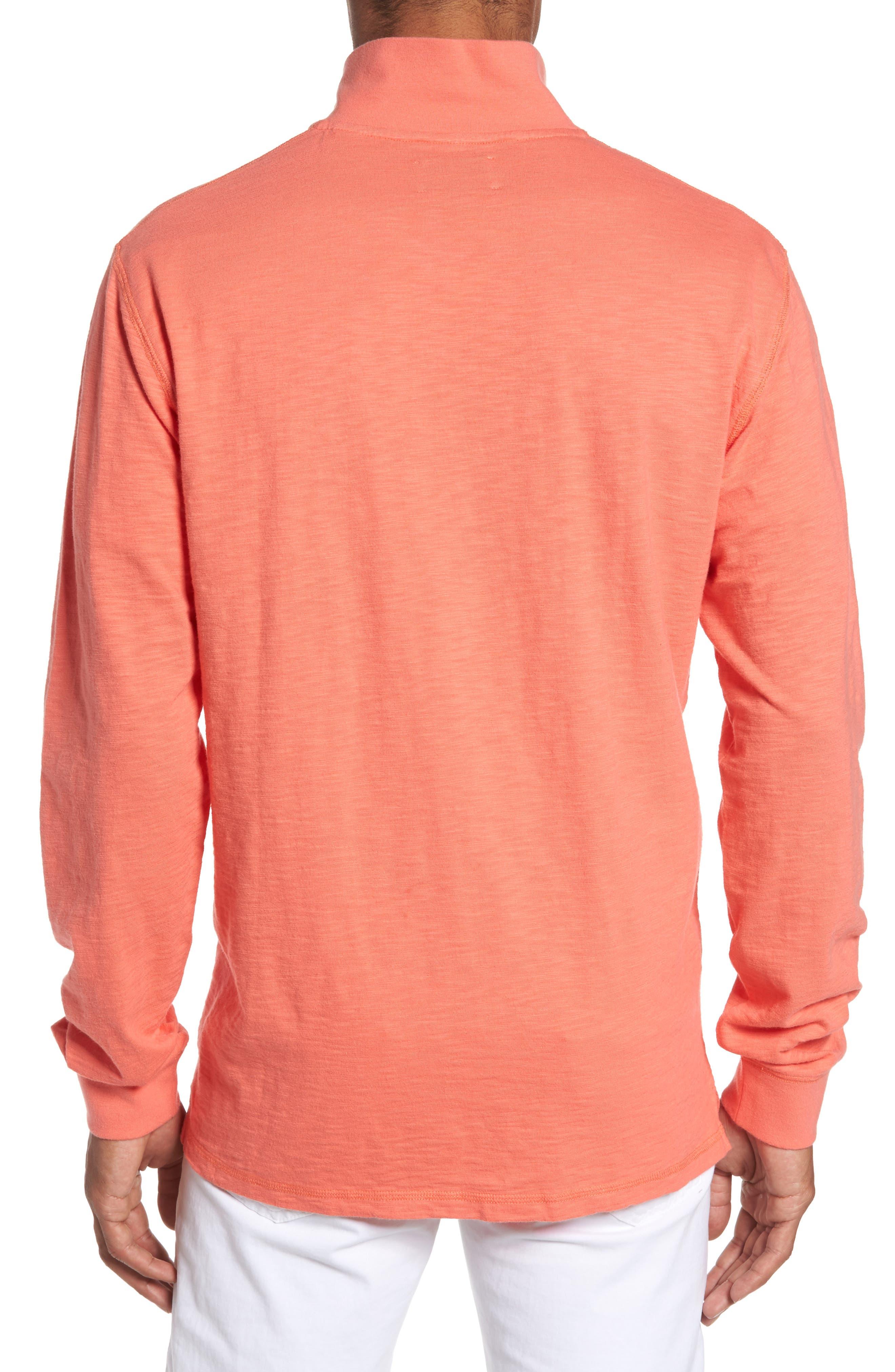 Gulf Stream Sweatshirt,                             Alternate thumbnail 2, color,                             Melon