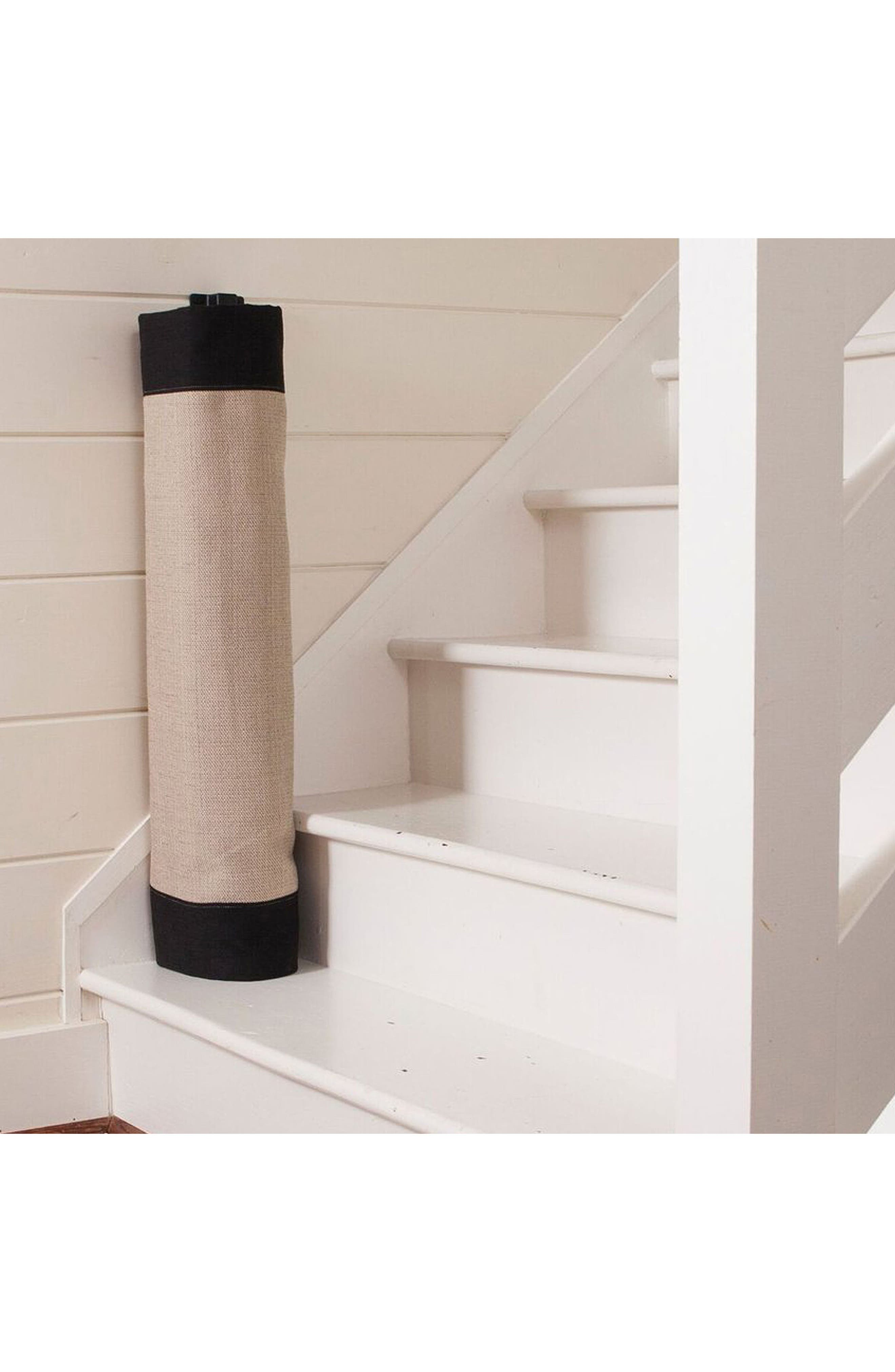 Wall to Banister Regular Width Safety Gate,                             Alternate thumbnail 3, color,                             Black And Tan