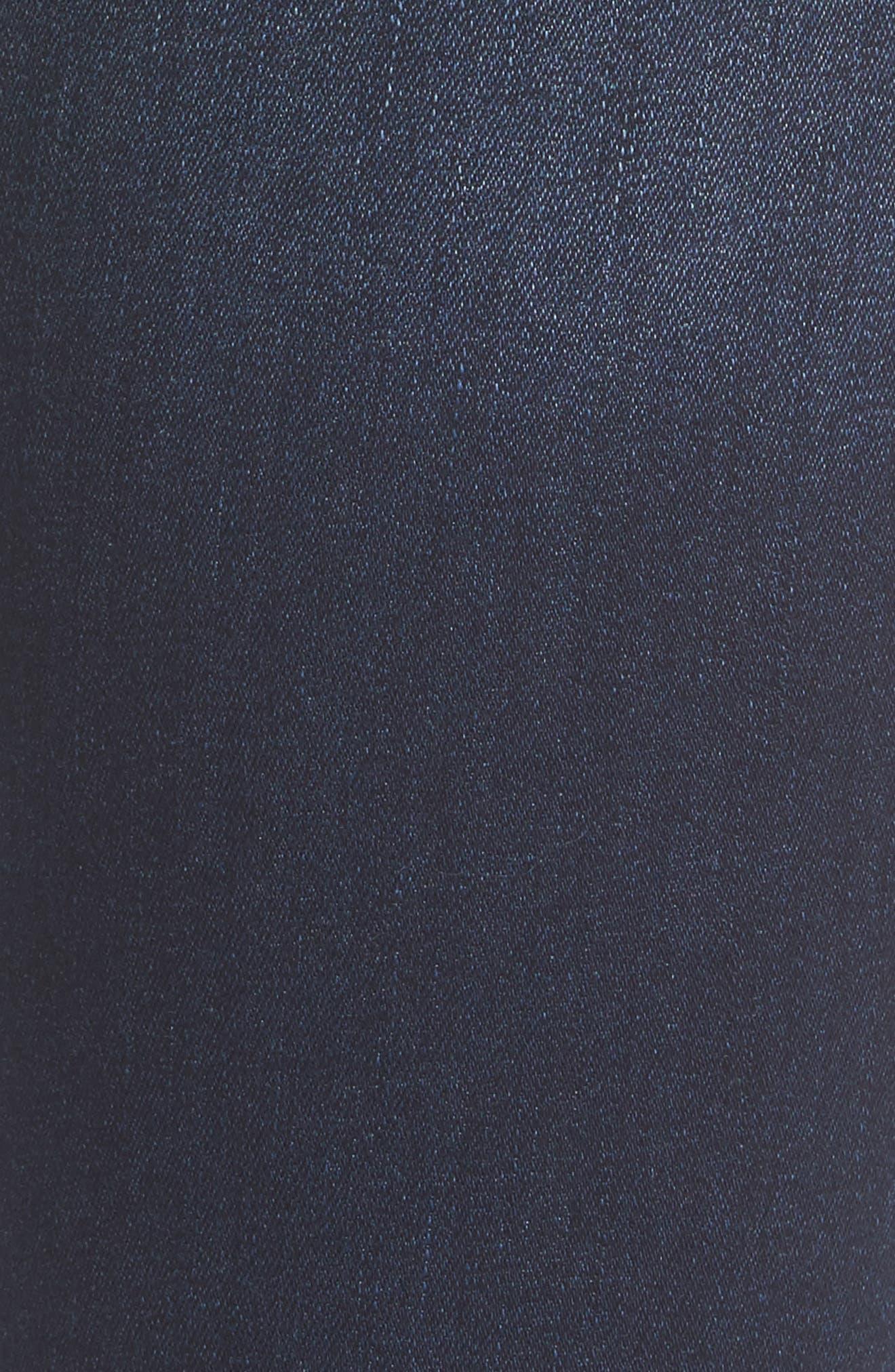Margaux Instasculpt Ankle Skinny Jeans,                             Alternate thumbnail 6, color,                             Salt Creek