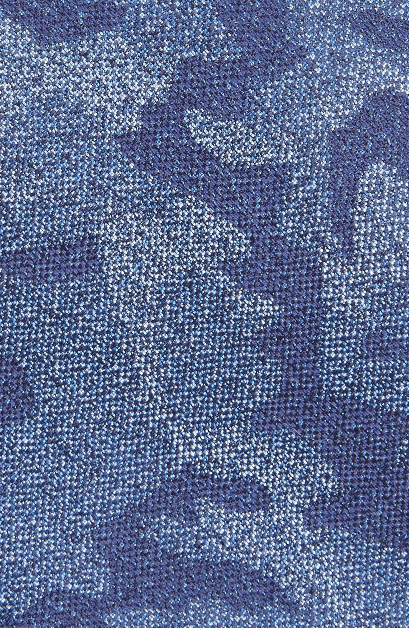 Alternate Image 2  - Calibrate Morada Camo Silk & Cotton Tie