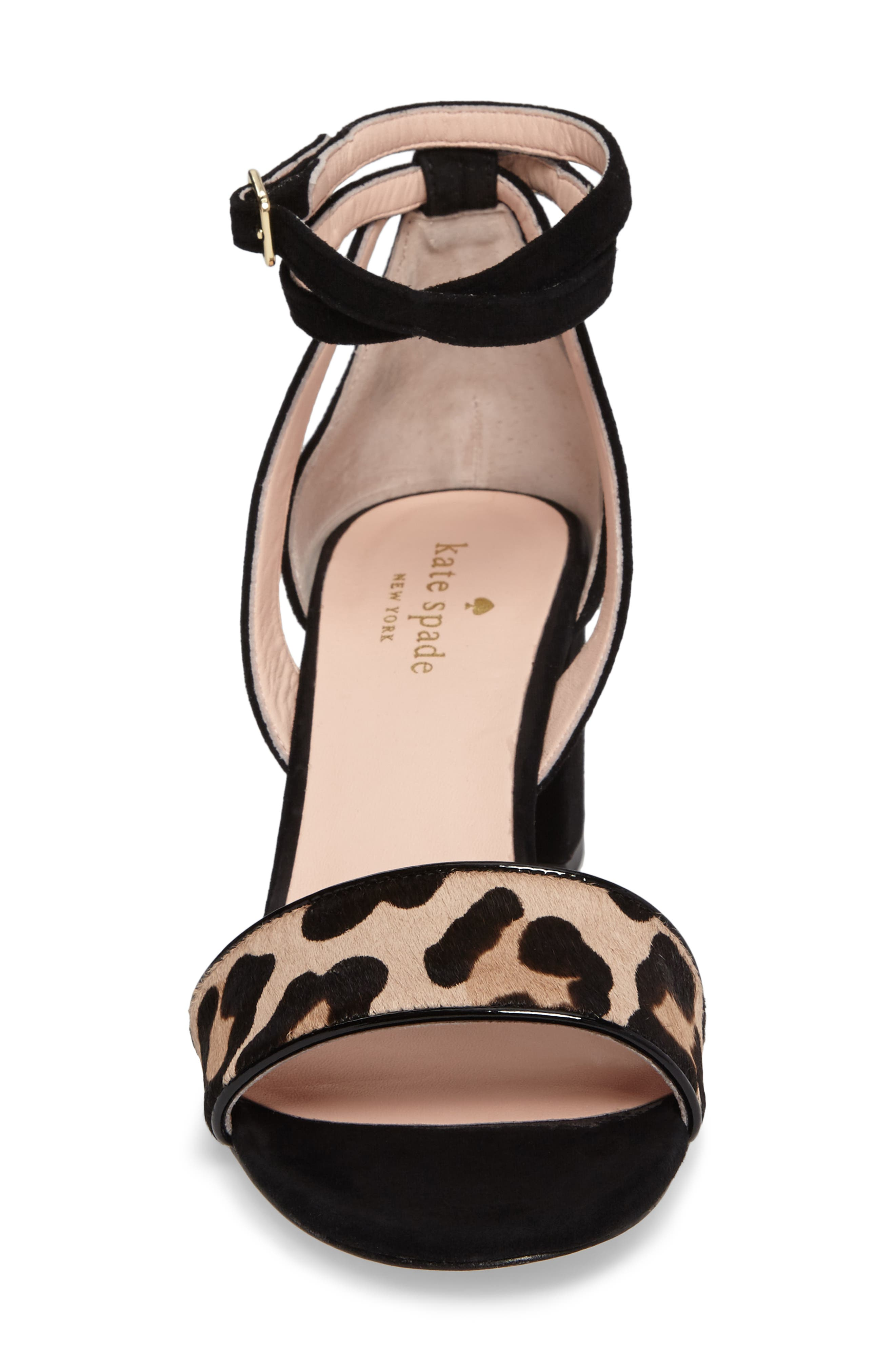 Alternate Image 4  - kate spade new york watson genuine calf hair block heel sandal (Women)