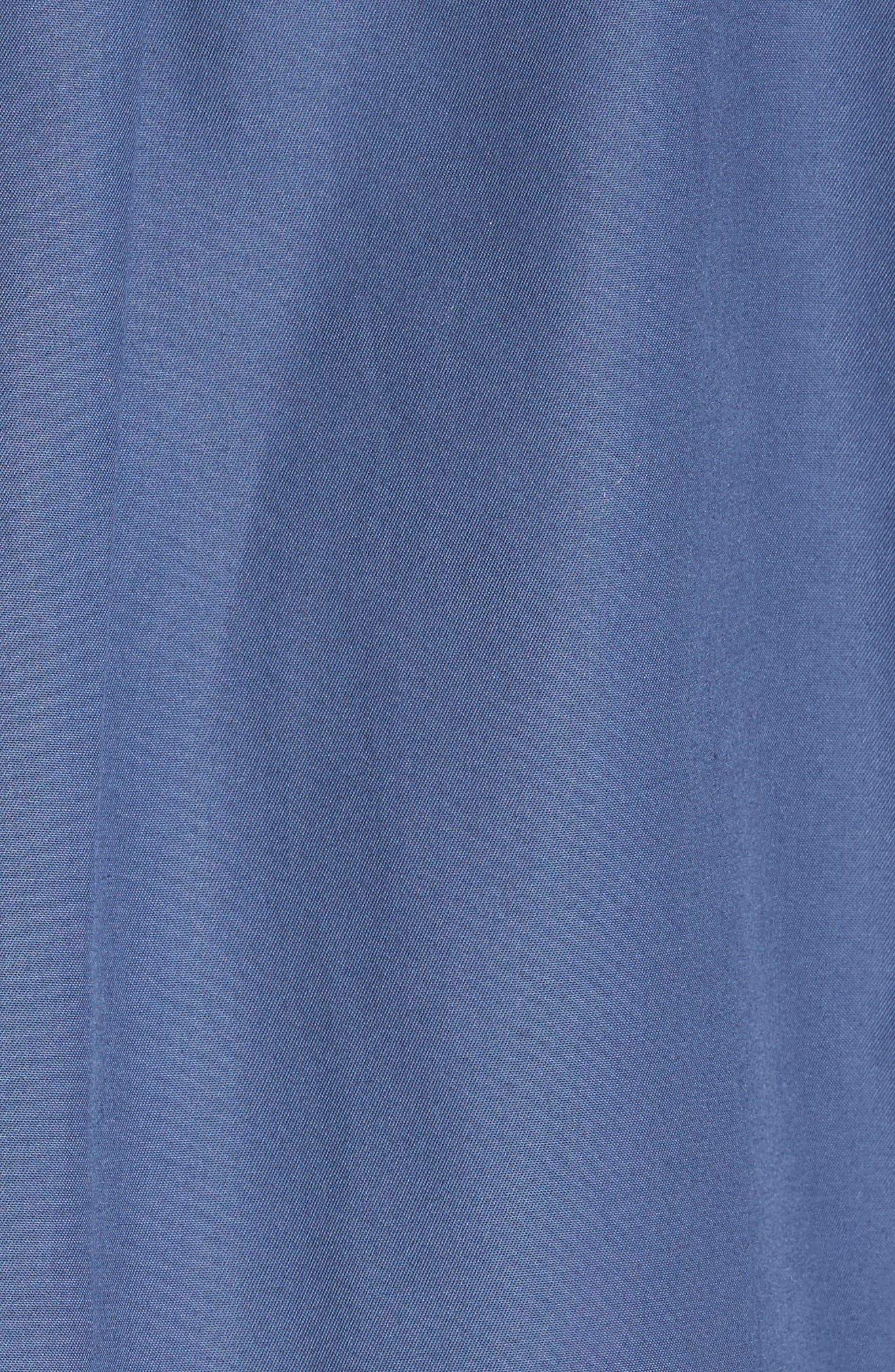 Alternate Image 5  - Nordstrom Men's Shop Smartcare™ Traditional Fit Twill Boat Shirt (Regular & Tall)