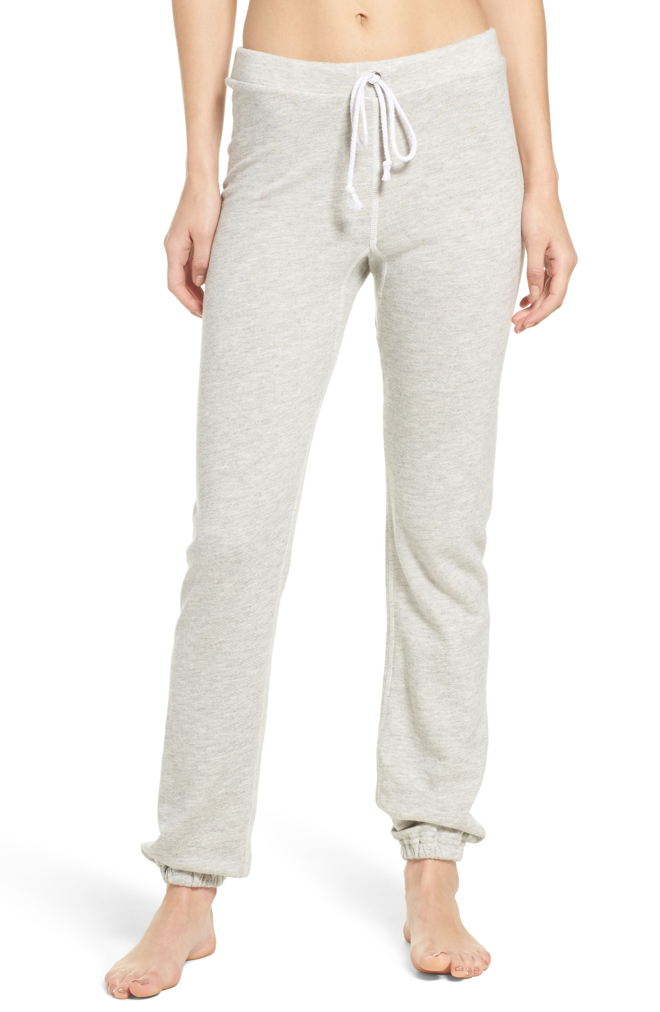 Favorite Sweatpants,                         Main,                         color, Light Heather Terry