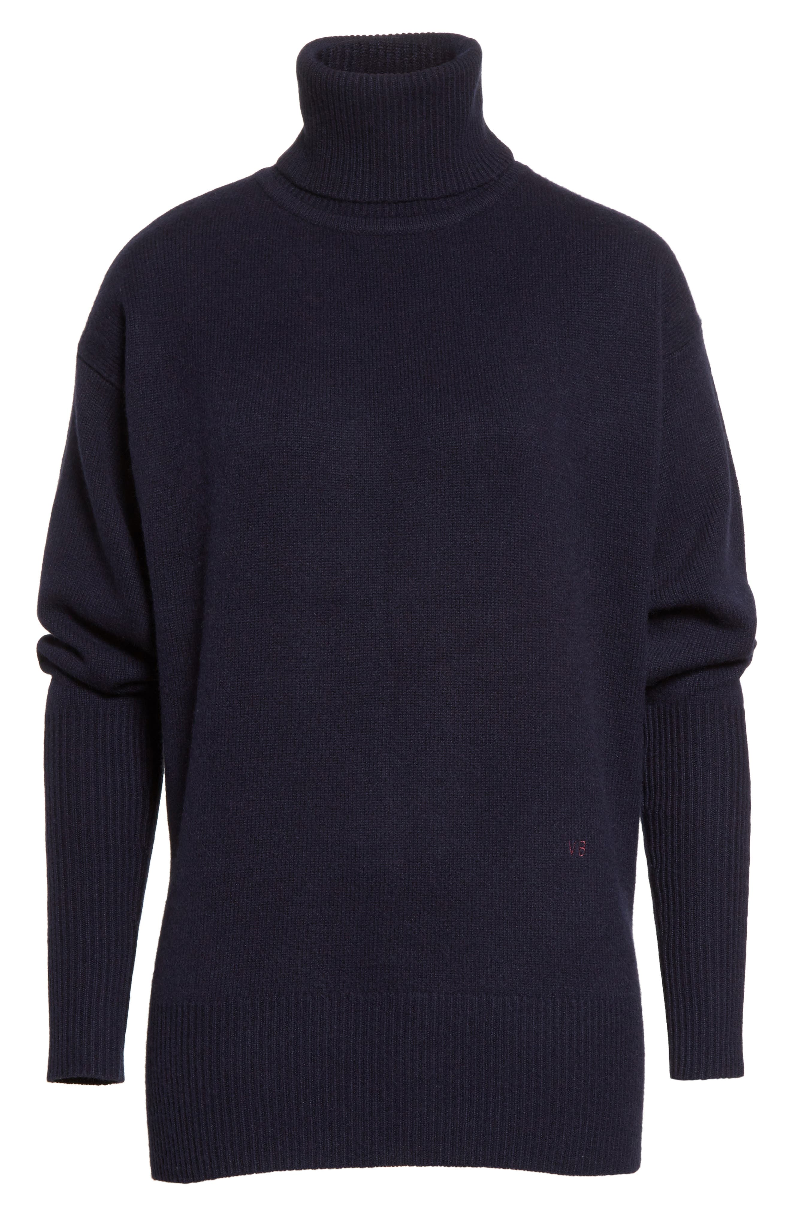 Alternate Image 7  - Victoria Beckham Cashmere Turtleneck Sweater