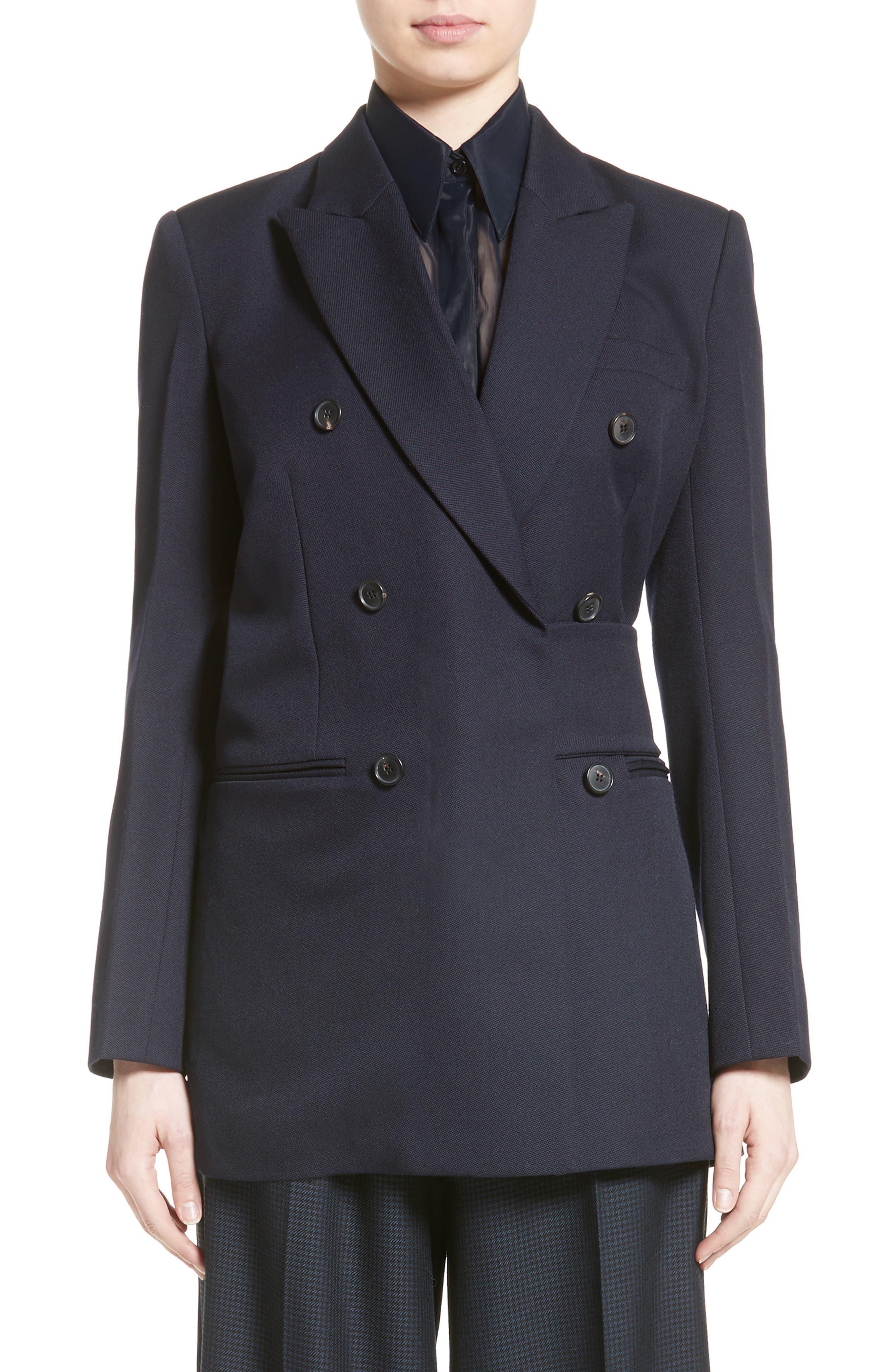 Victoria Beckham Tab Detail Men's Blazer