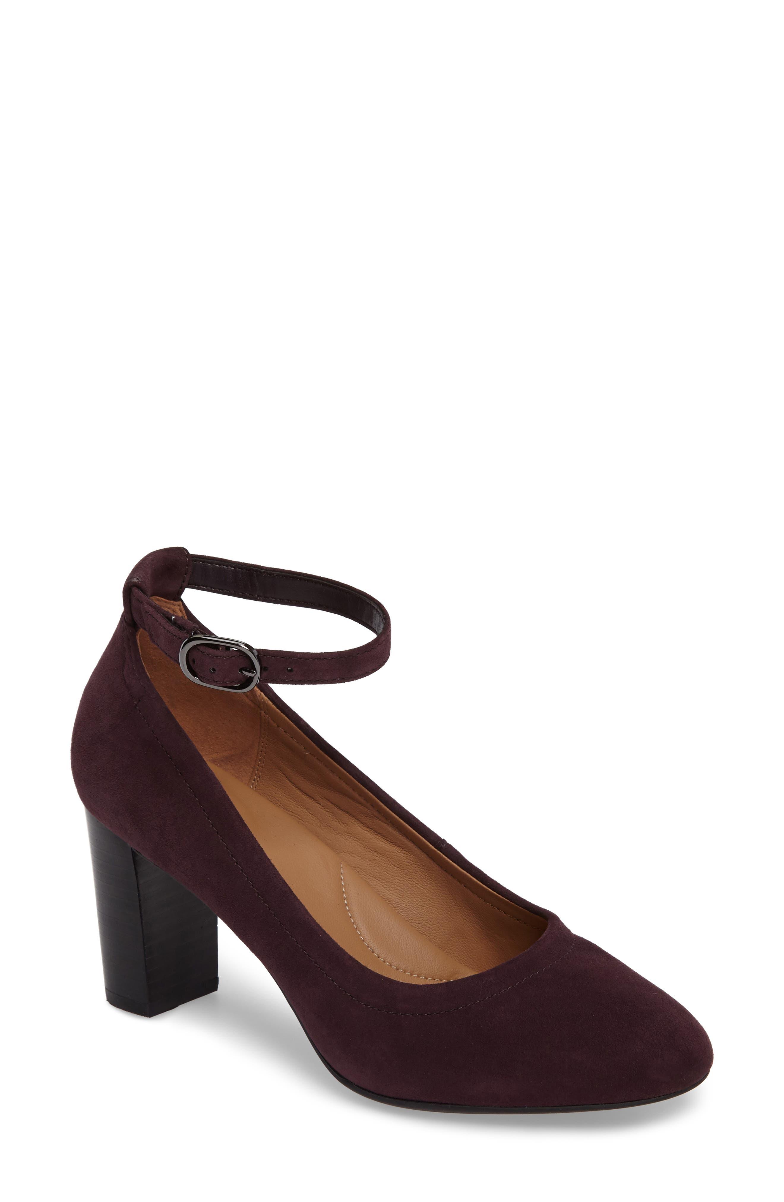 Clarks® Chryssa Jana Ankle Strap Pump (Women)