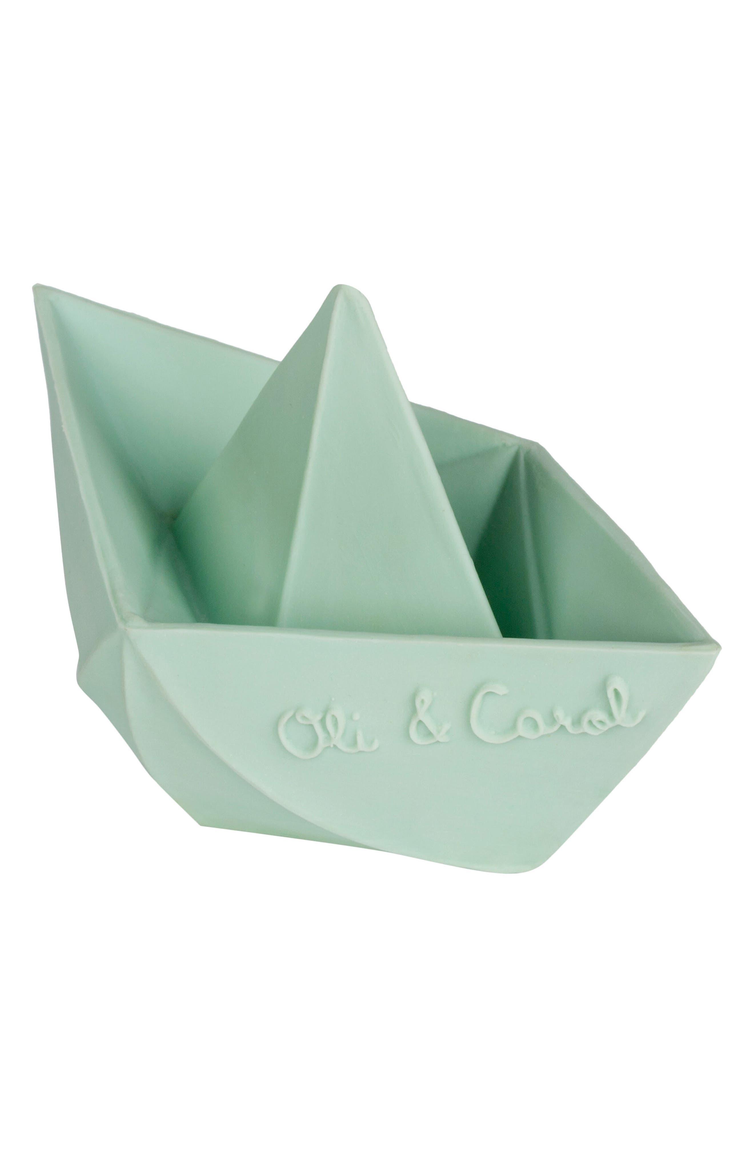 Alternate Image 2  - Oli & Carol Origami Boat Bath Toy