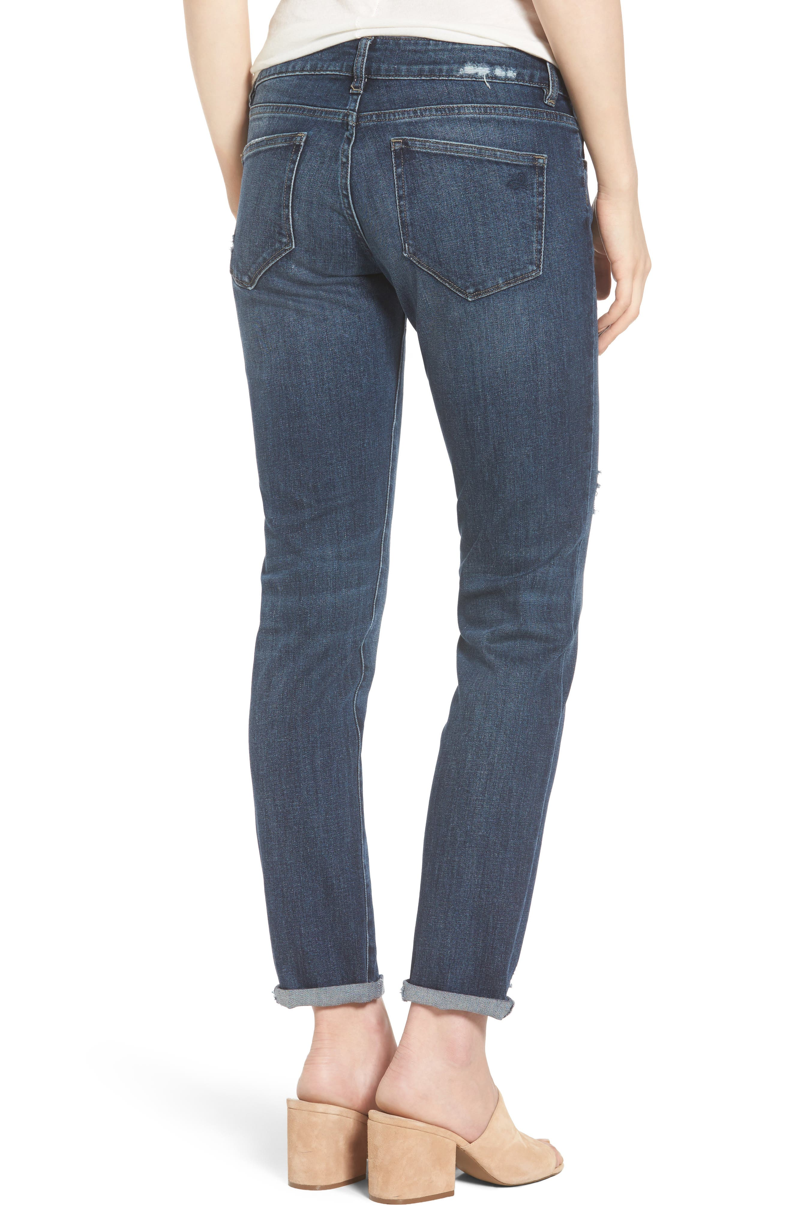 Alternate Image 2  - DL1961 Riley Boyfriend Jeans (Hayden)