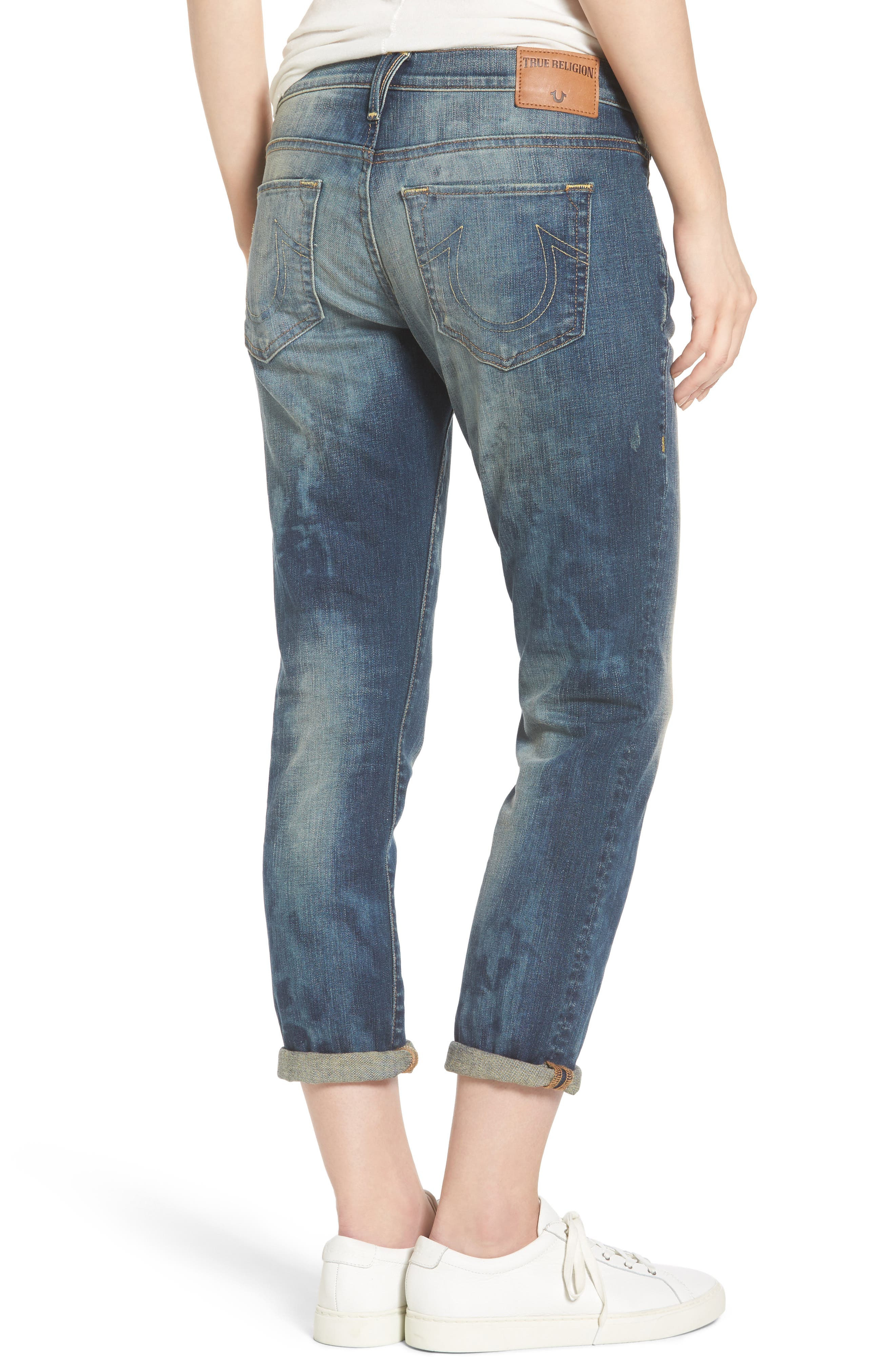 Alternate Image 2  - True Religion Brand Jeans Cameron Slim Boyfriend Jeans (Distillery)
