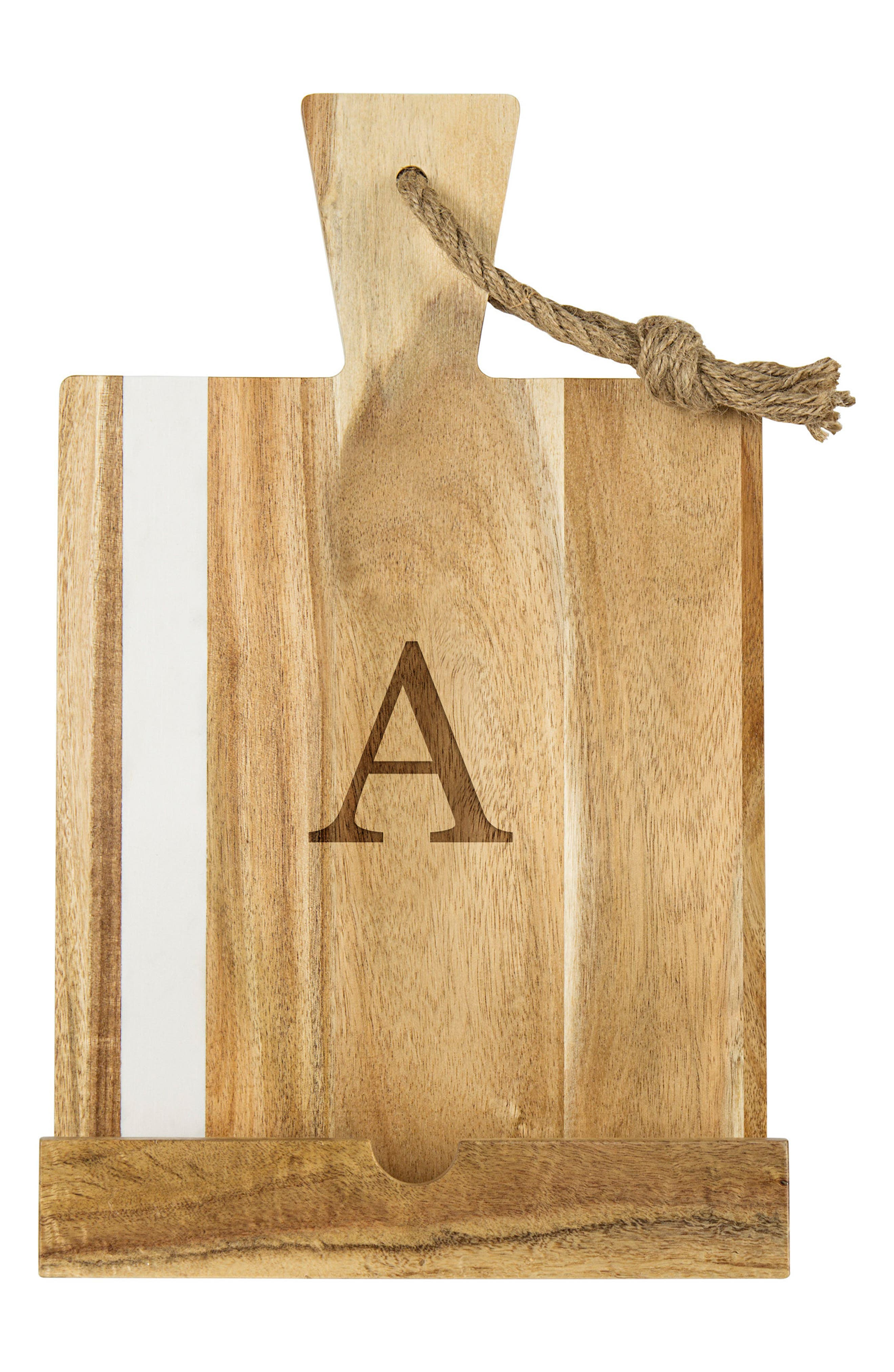 Alternate Image 1 Selected - Cathy's Concepts Monogram Tablet Holder