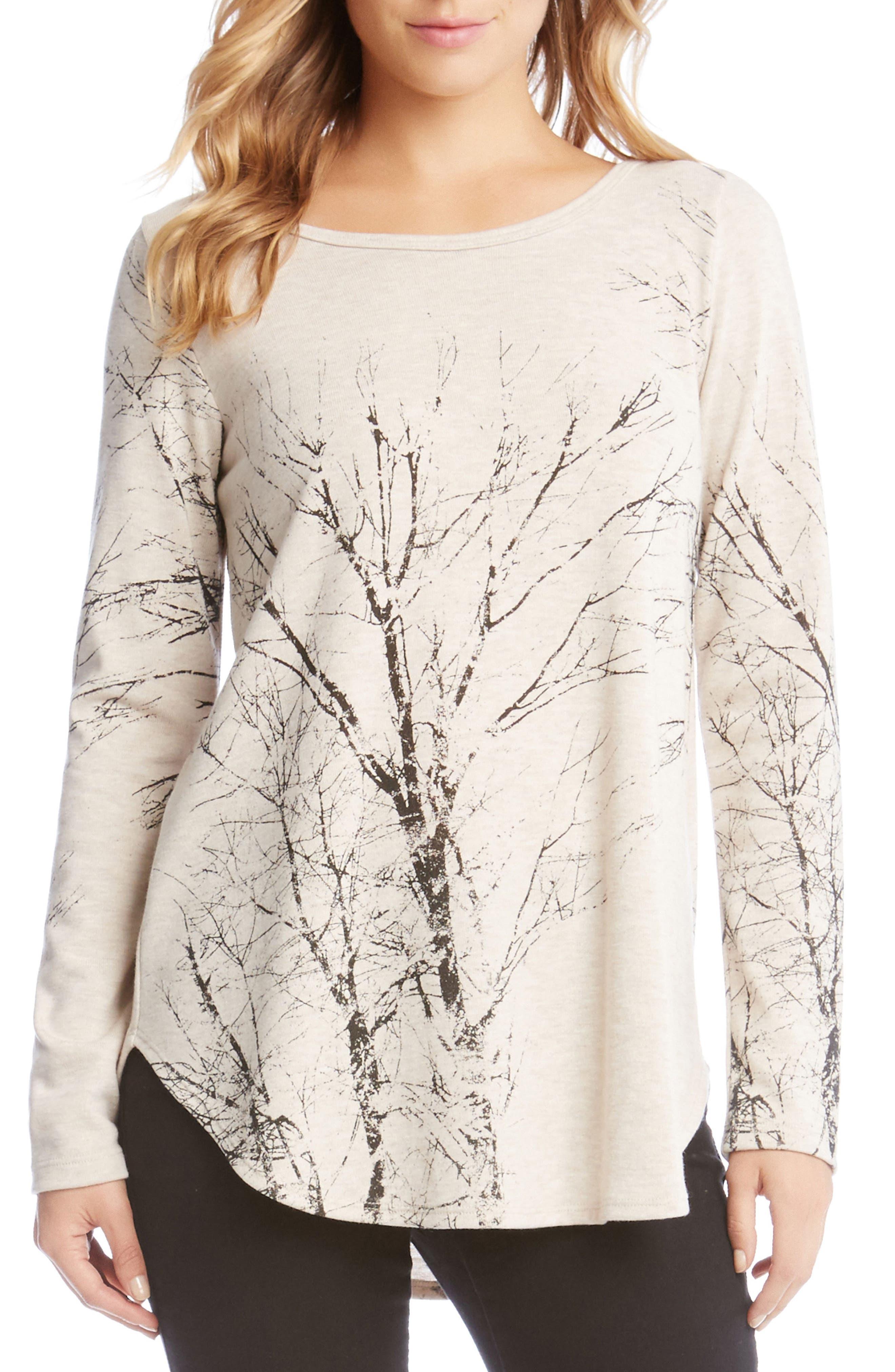 Kane Kane Tree Print Sweater