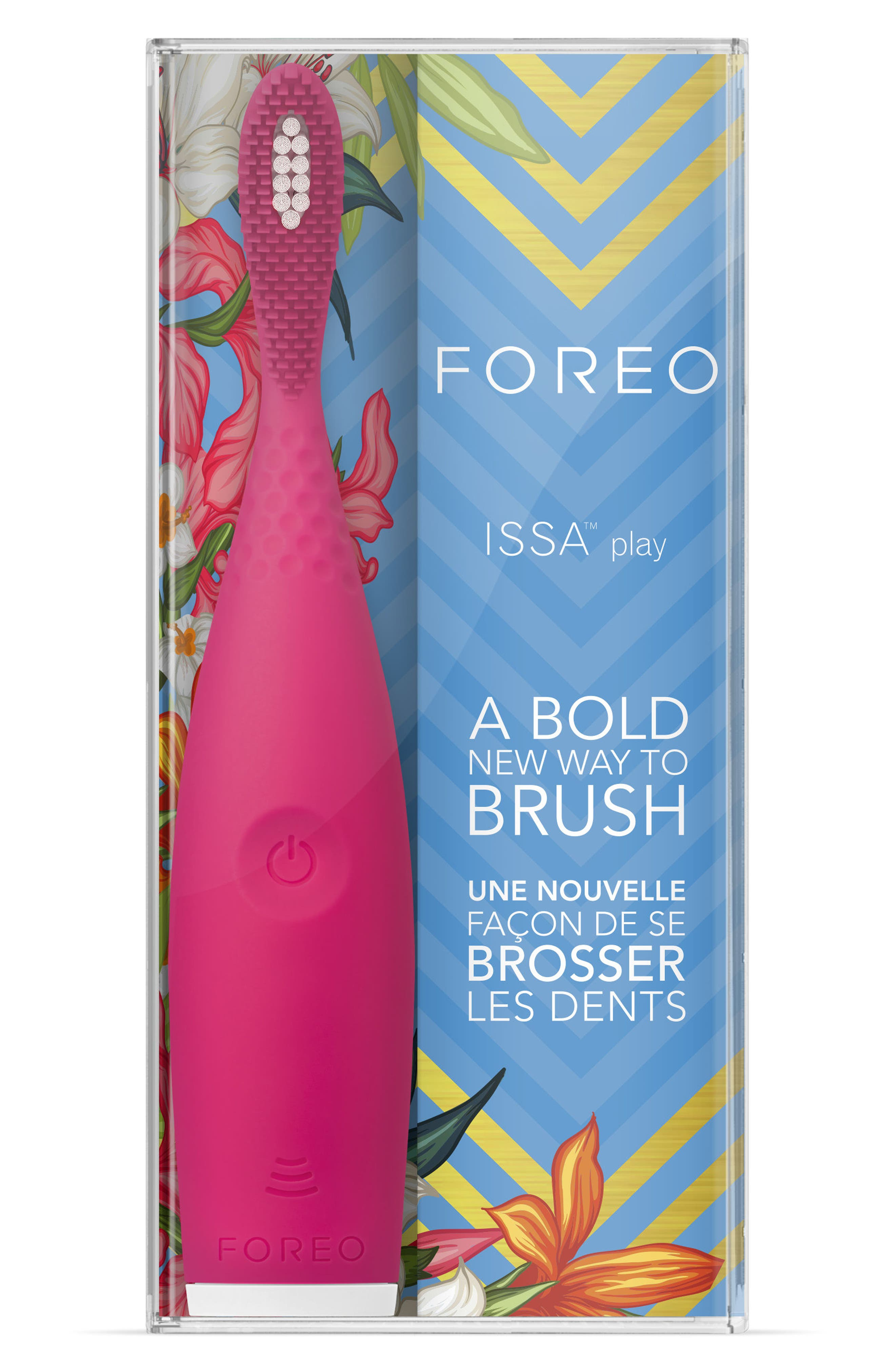 ISSA Play Sonic Toothbrush,                             Alternate thumbnail 4, color,                             Wild Strawberry