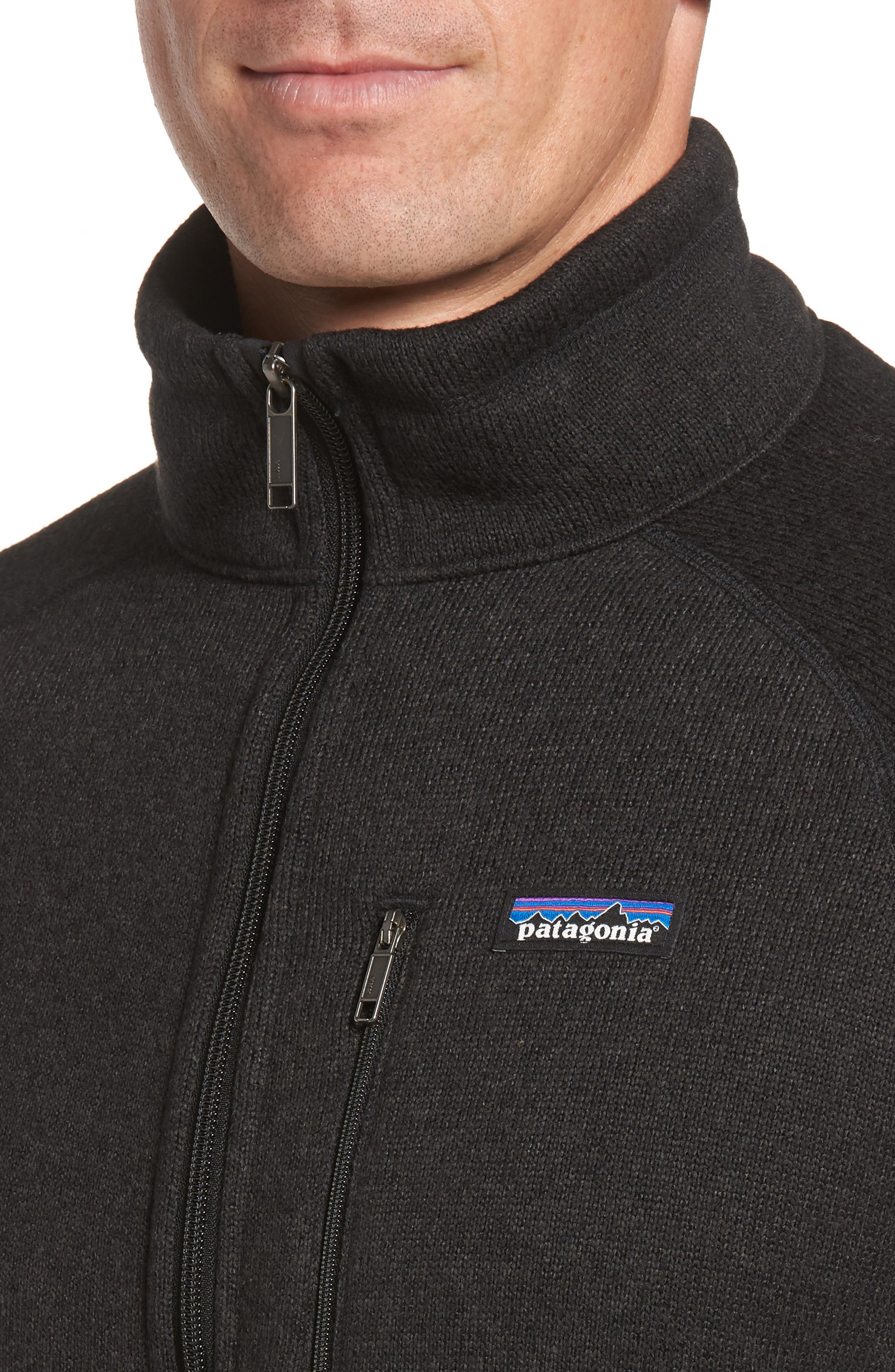 Alternate Image 4  - Patagonia Better Sweater Zip Front Jacket
