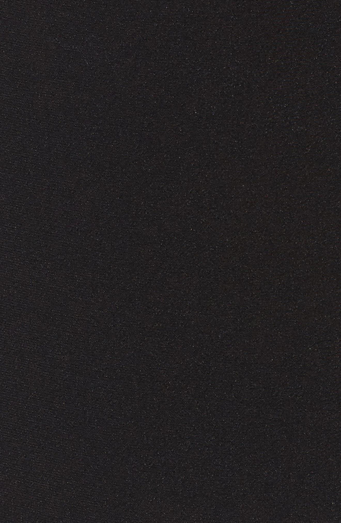 Melanie Thong Bodysuit,                             Alternate thumbnail 5, color,                             Black