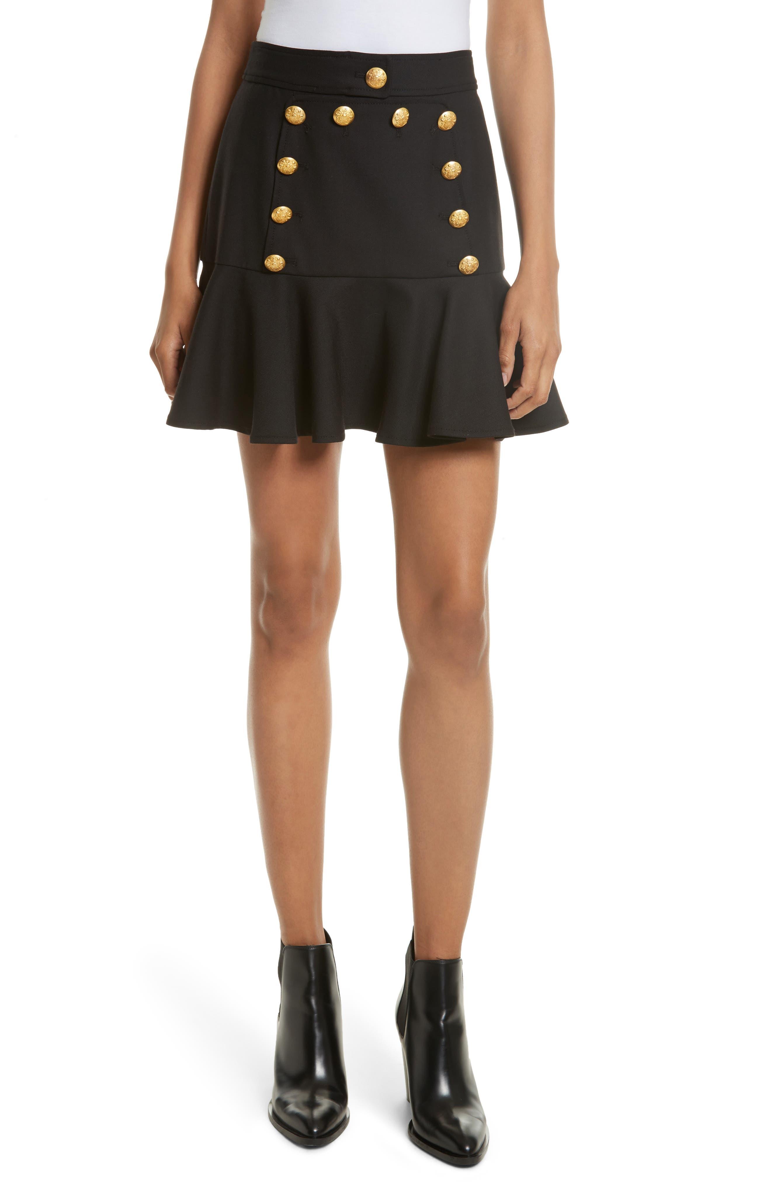 VERONICA BEARD Morrison Flounce Sailor Skirt