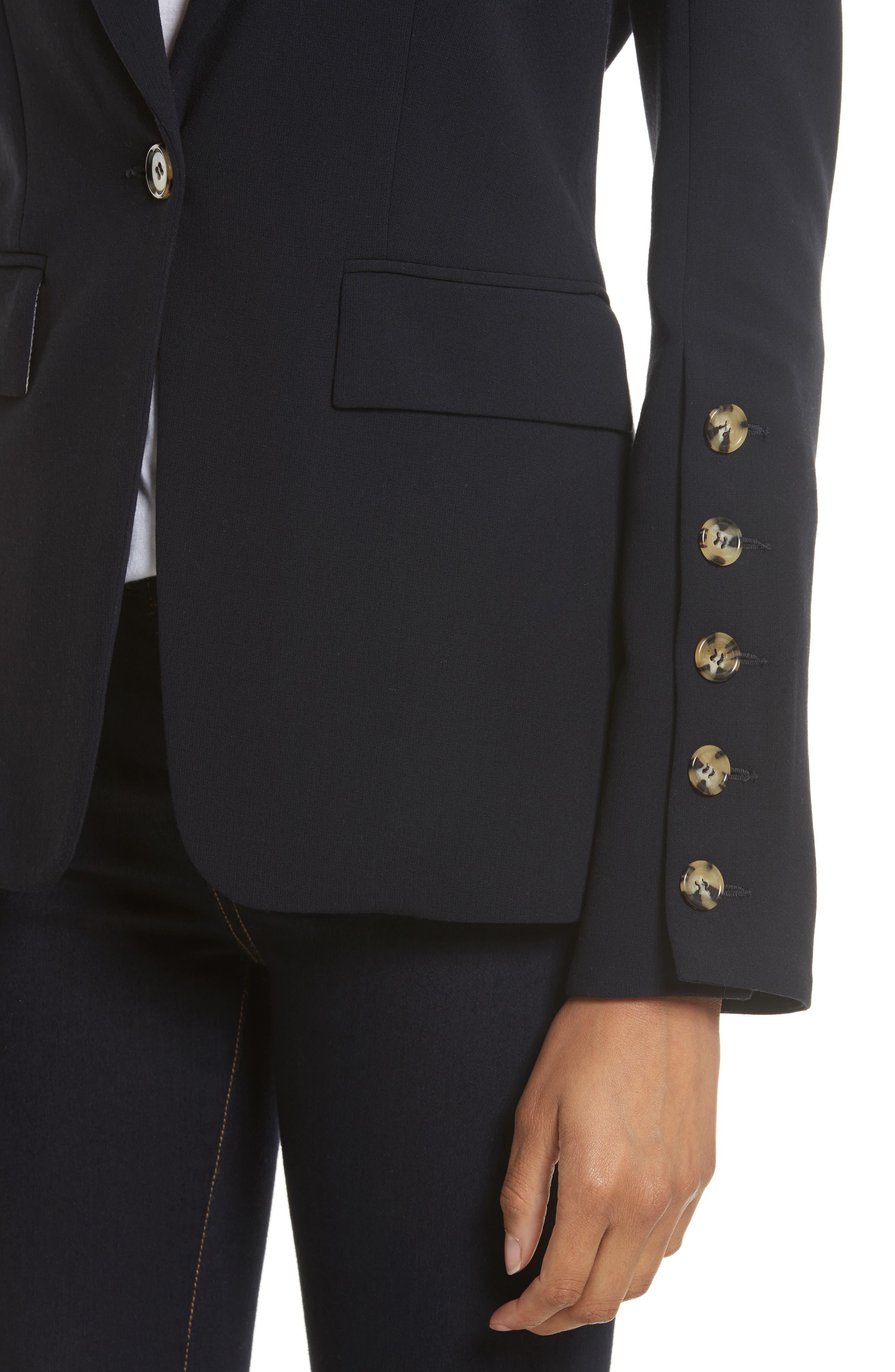 Alternate Image 4  - Veronica Beard Steele Cutaway Jacket