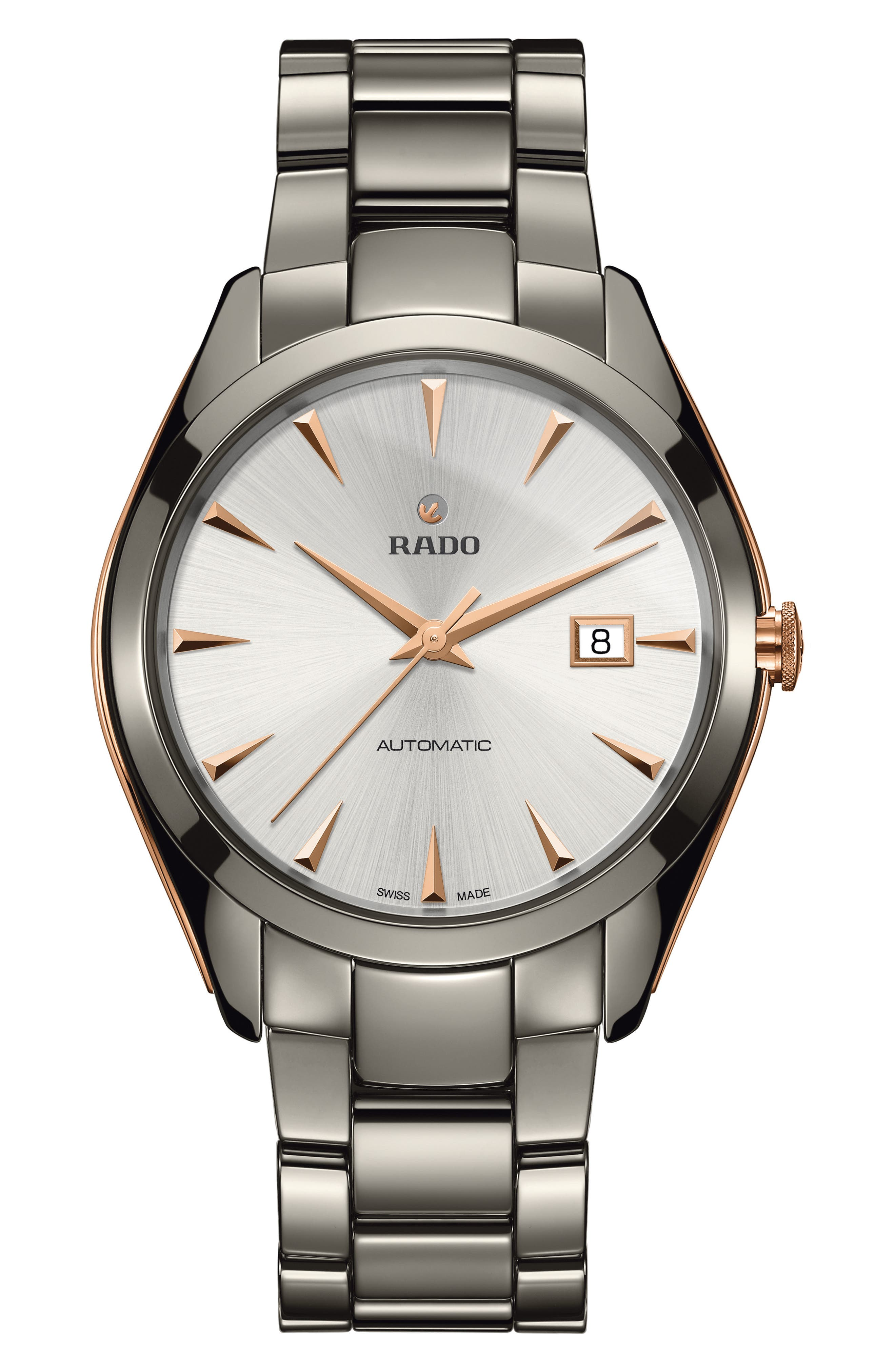 Main Image - RADO HyperChrome Automatic Bracelet Watch, 42mm