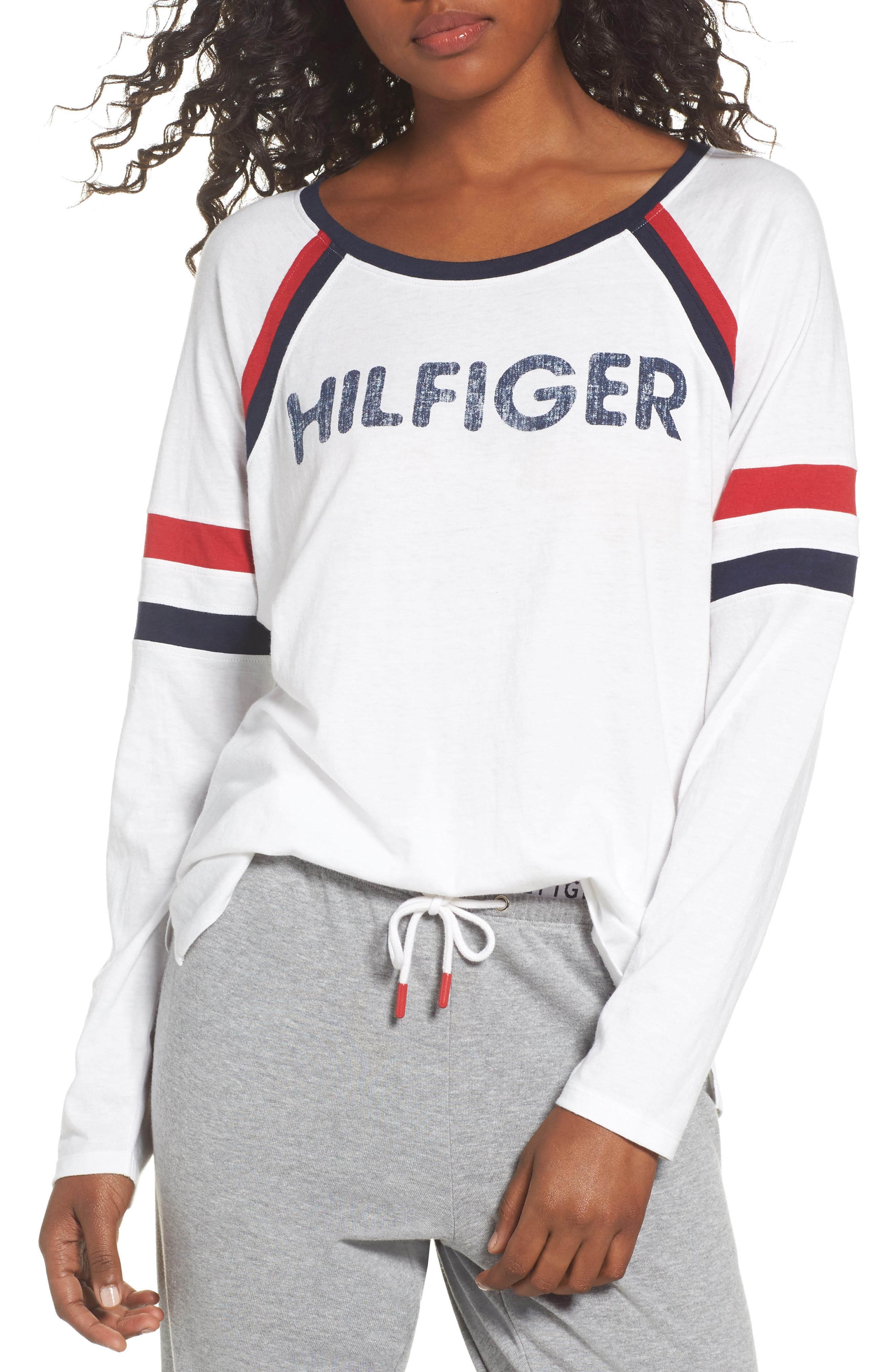 Alternate Image 1 Selected - Tommy Hilfiger TH Logo Tee