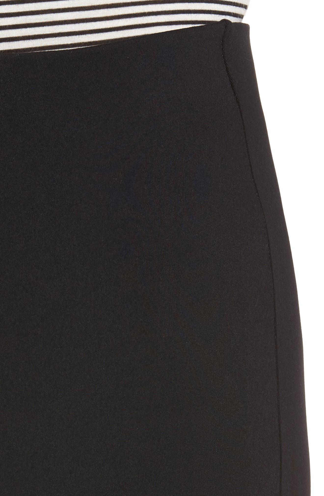 Alternate Image 5  - David Lerner Tube High Rise Pencil Skirt