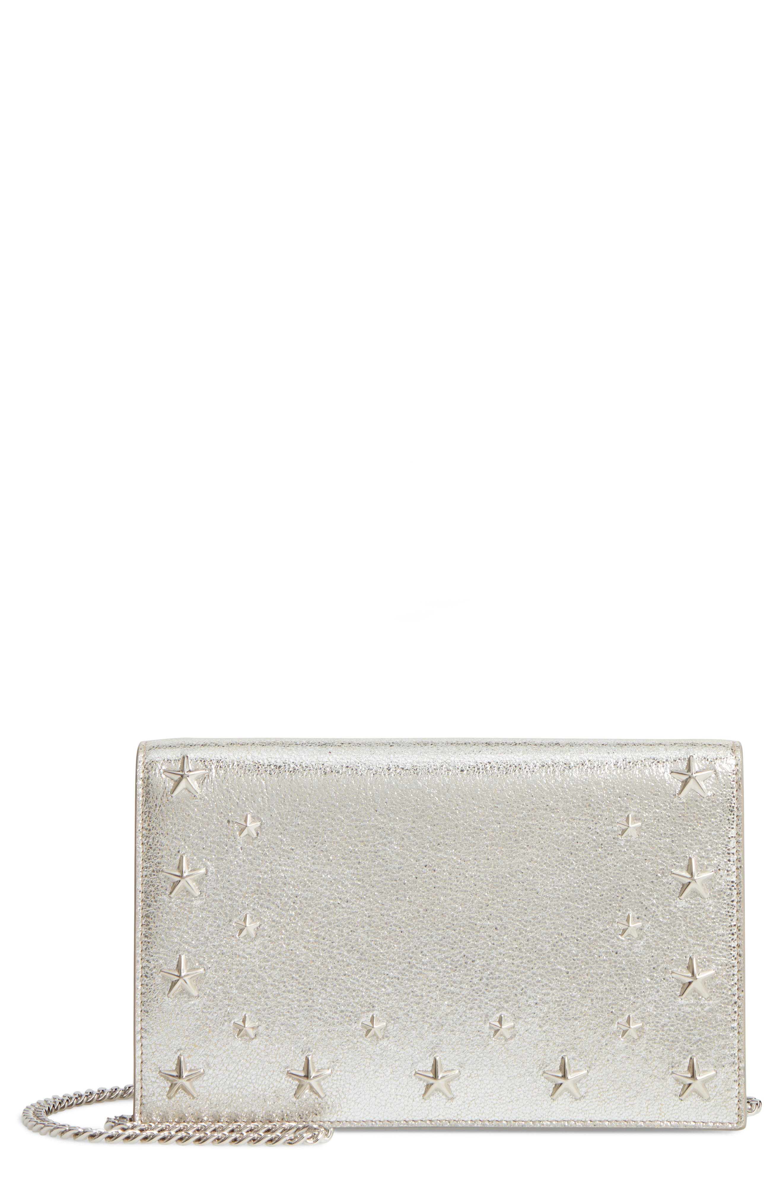 Alternate Image 1 Selected - Jimmy Choo Sky Leather Crossbody Bag