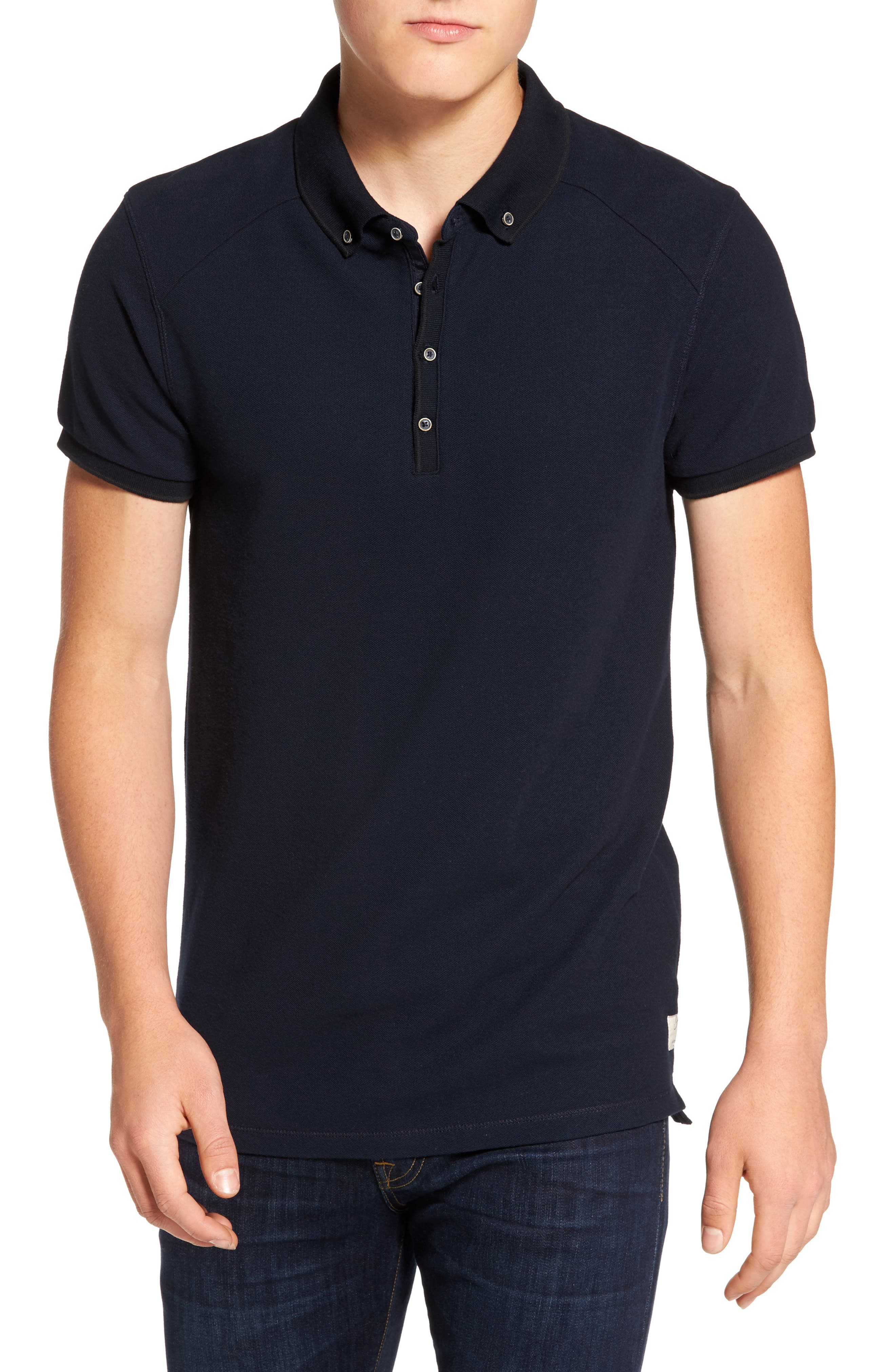 Alternate Image 1 Selected - Scotch & Soda Home Alone Polo