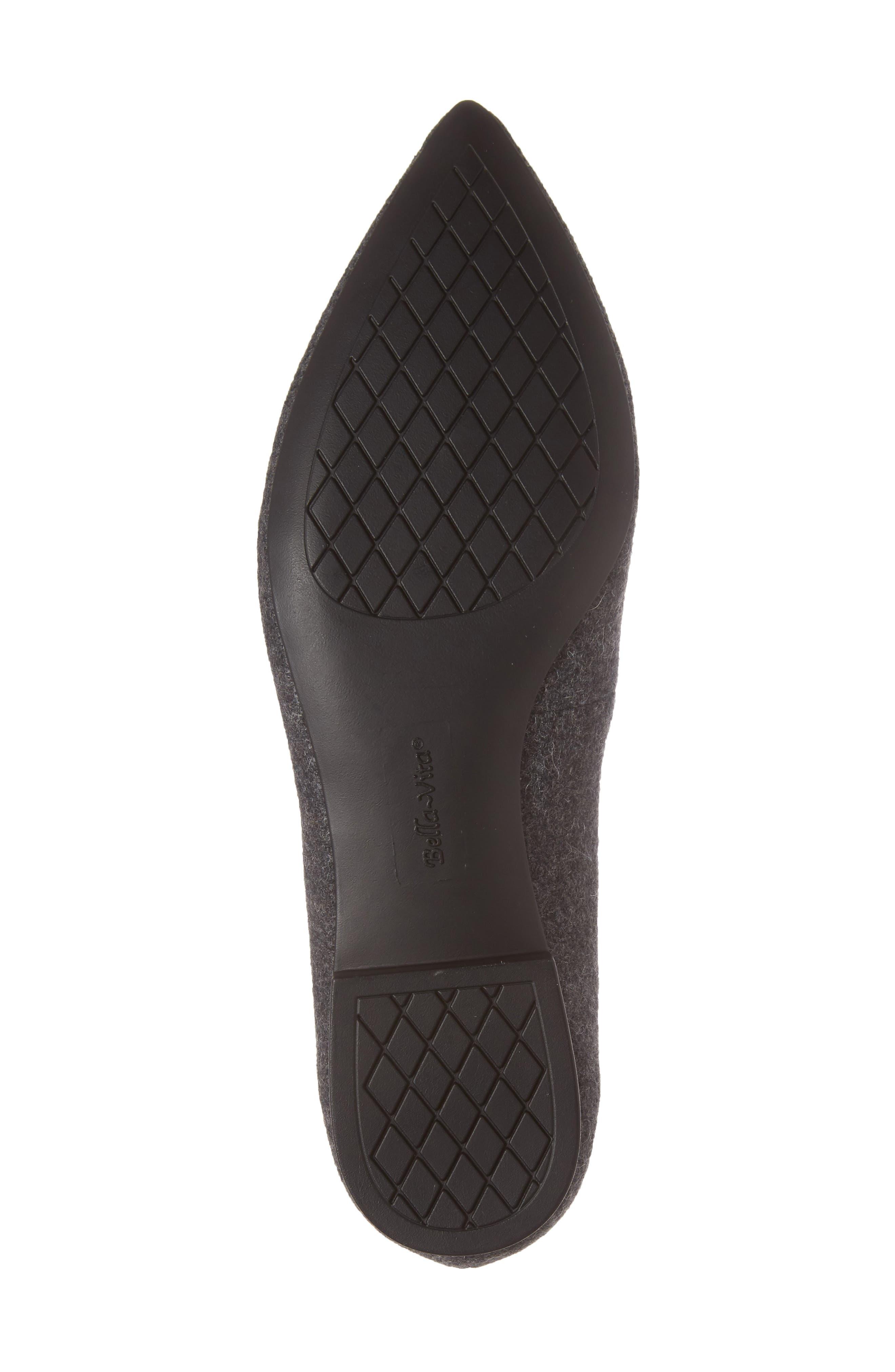Alternate Image 6  - Bella Vita 'Vivien' Pointy Toe Flat (Women)