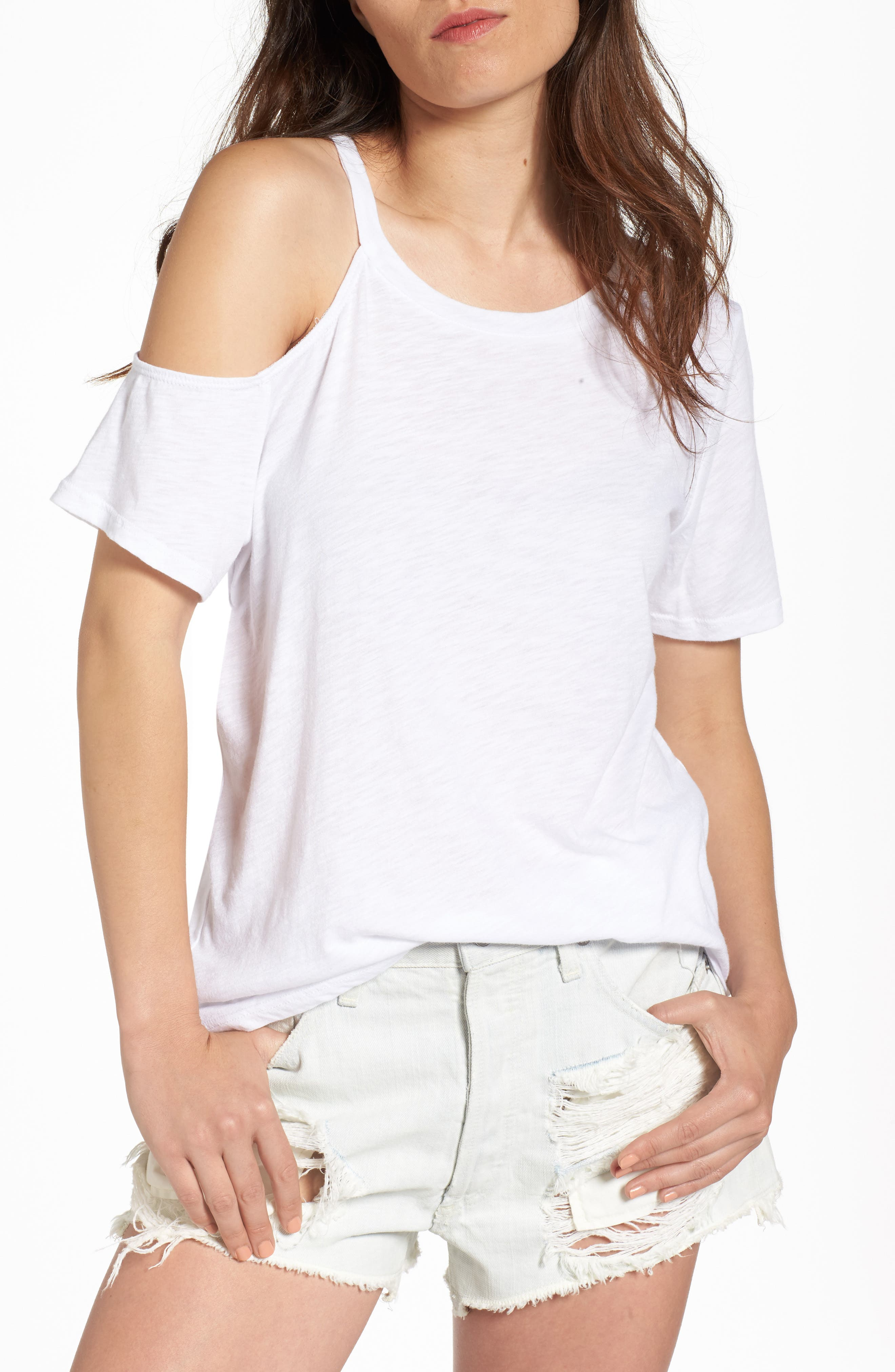 BP. Cold Shoulder Tee