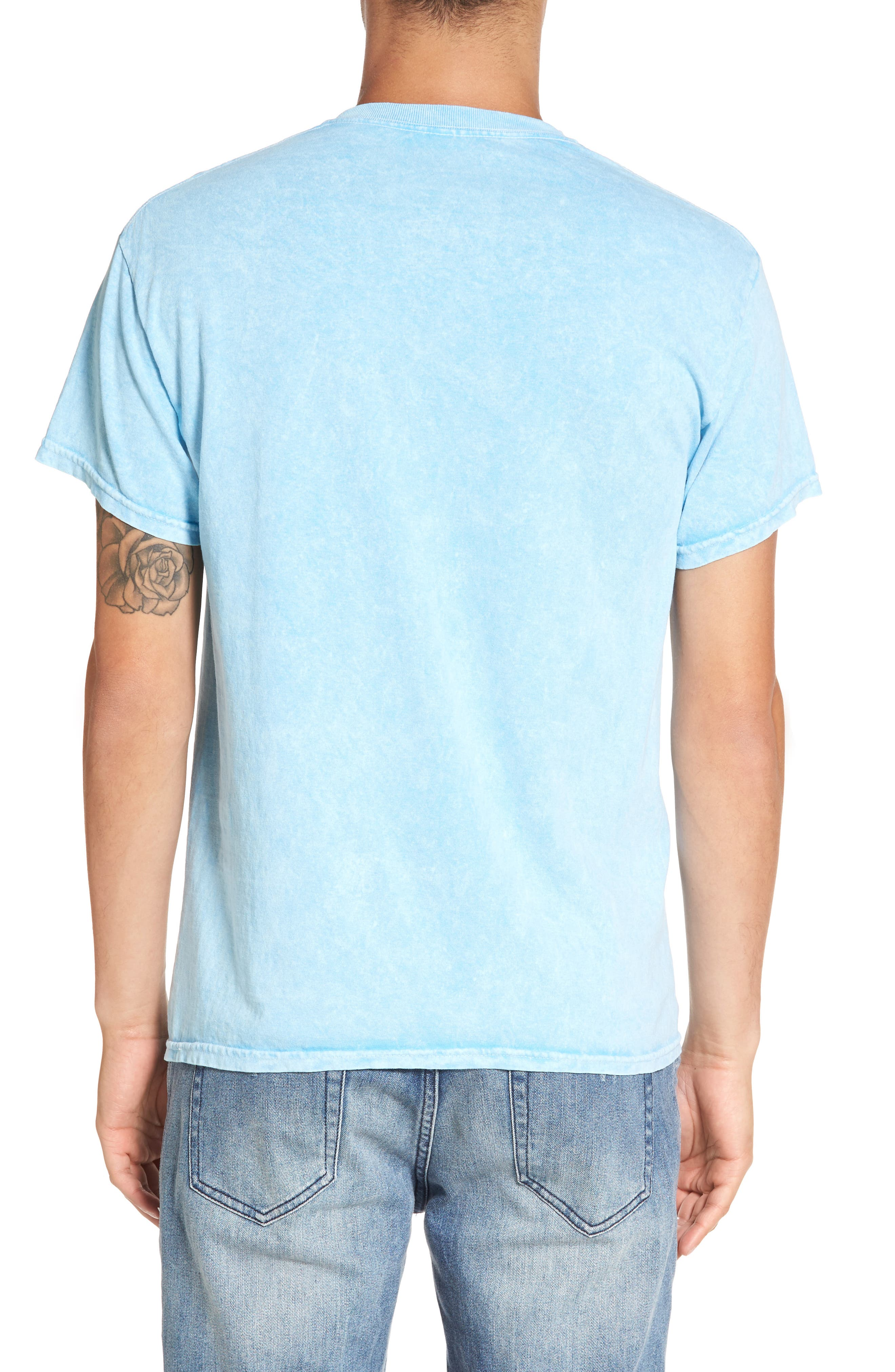 Alternate Image 2  - The Rail Washed Graphic T-Shirt