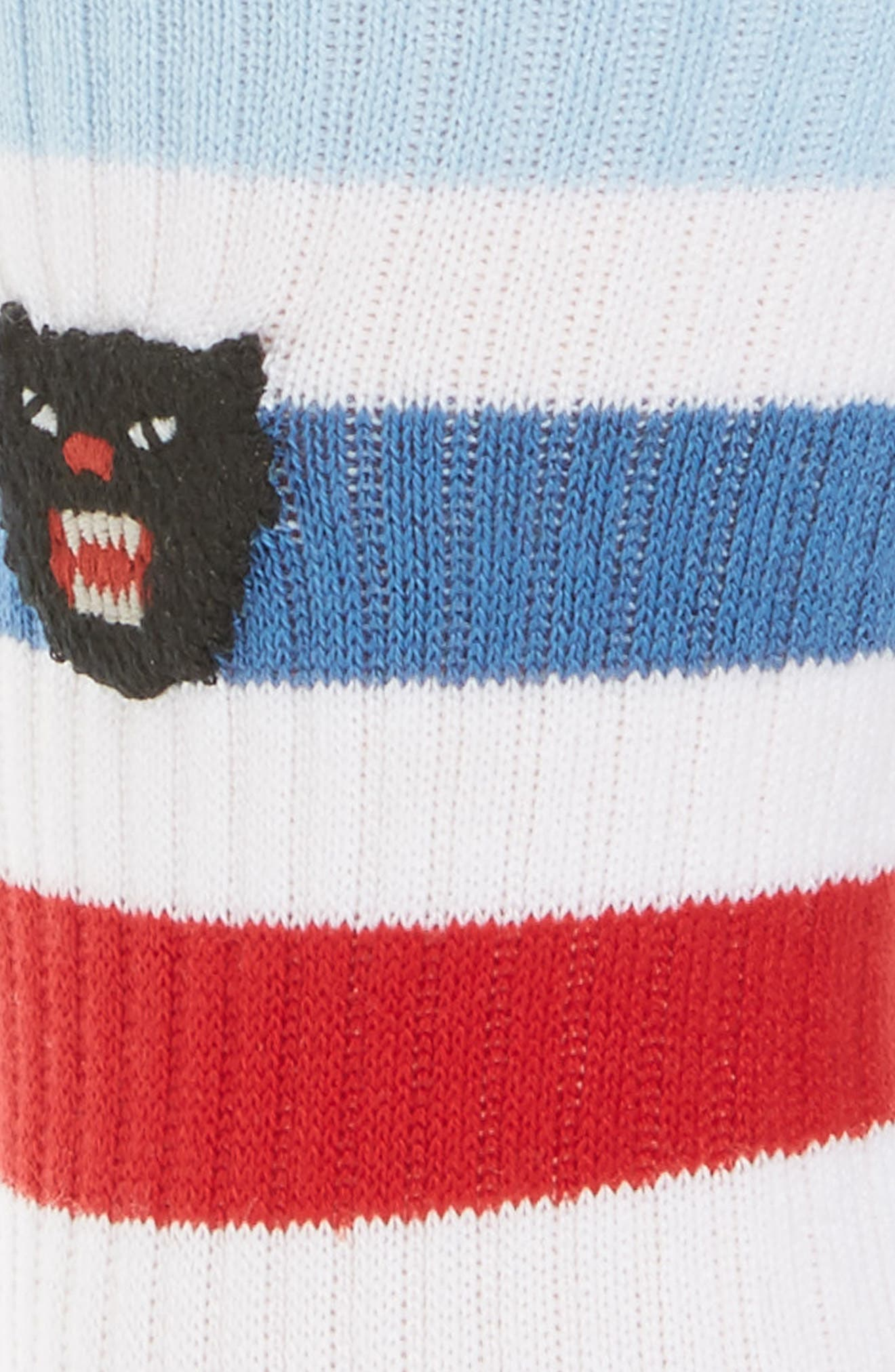 Puma Patch Socks,                             Alternate thumbnail 2, color,                             White