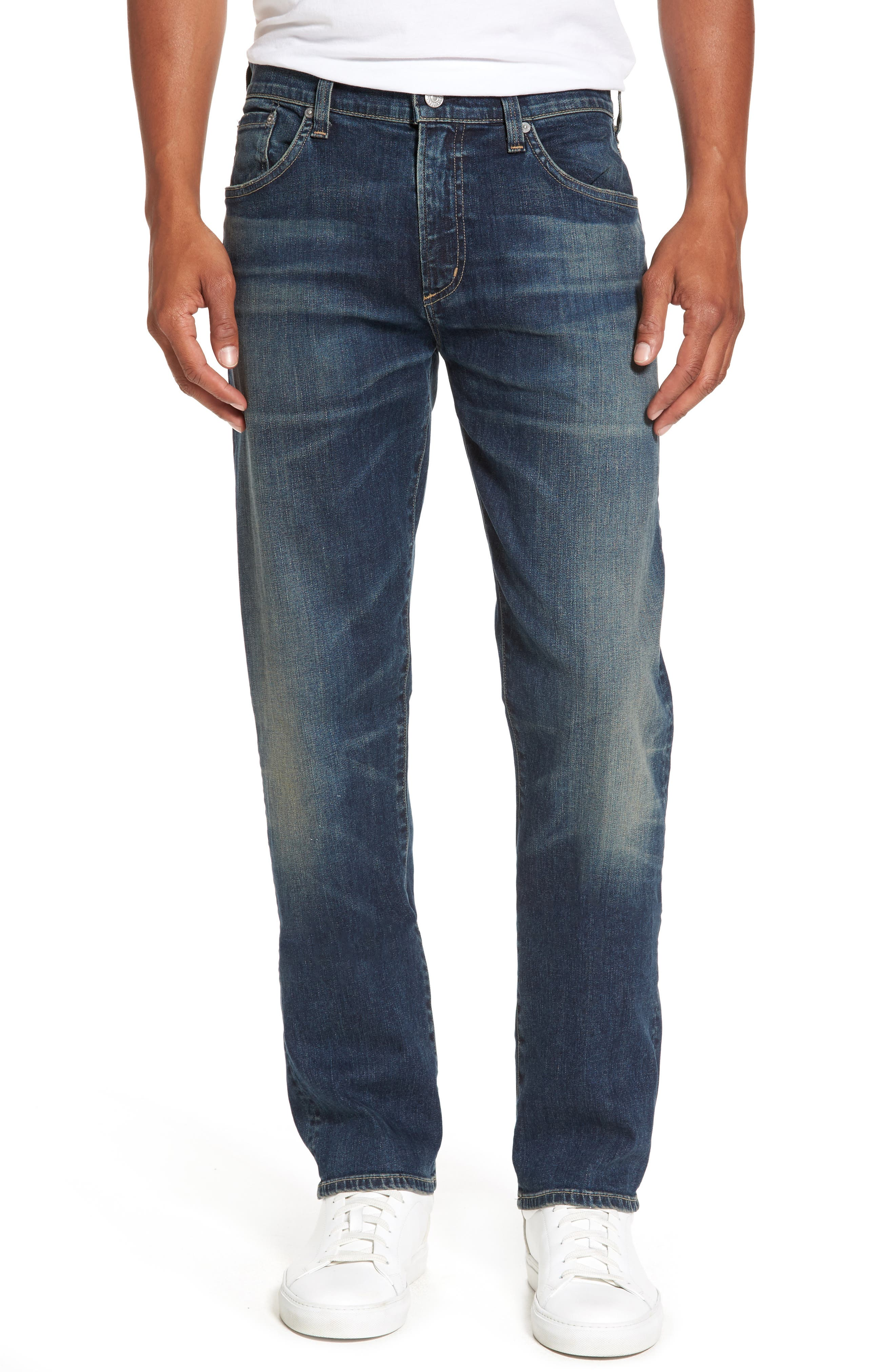 Core Slim Fit Jeans,                             Main thumbnail 1, color,                             Argo