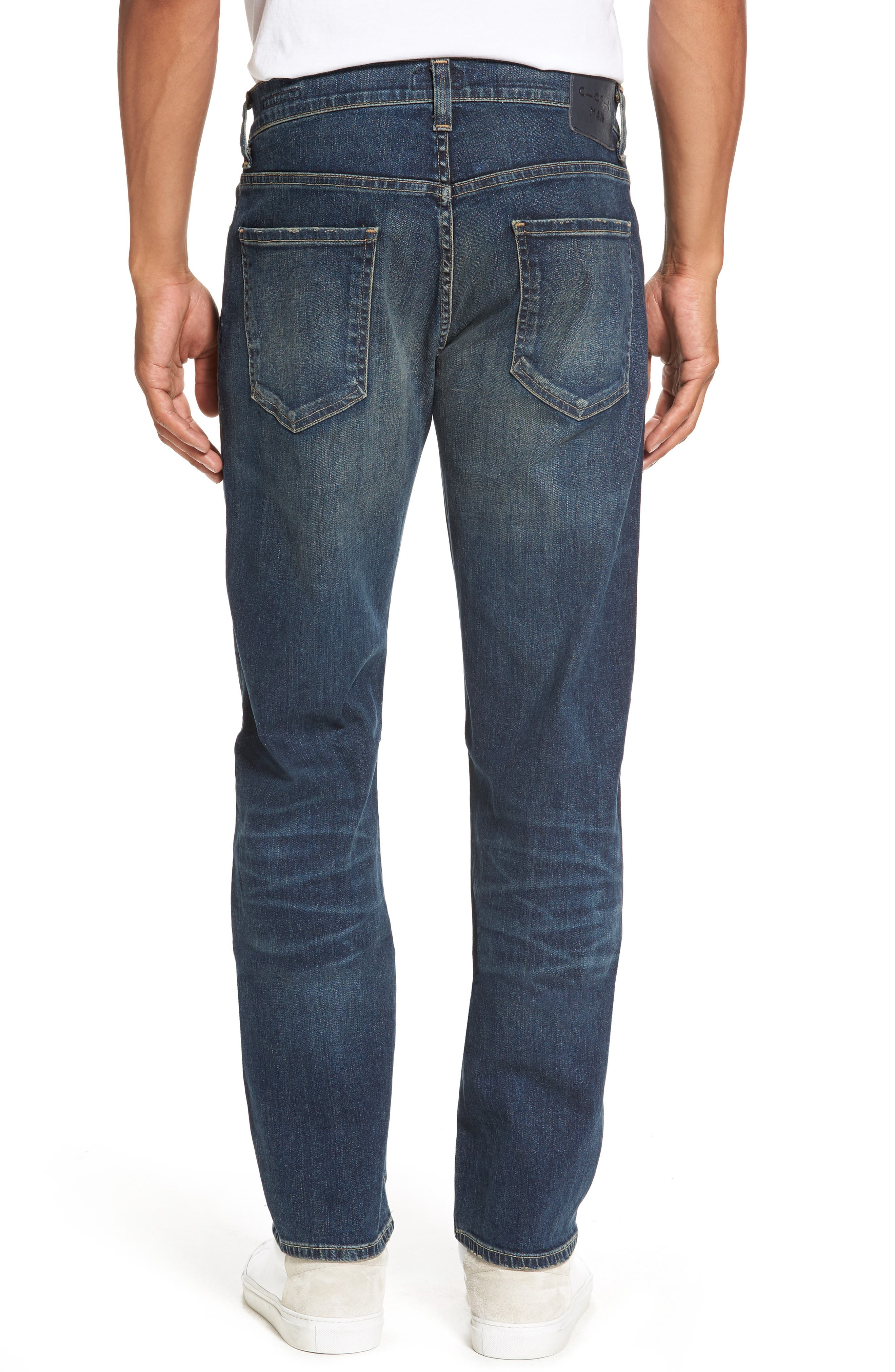 Core Slim Fit Jeans,                             Alternate thumbnail 2, color,                             Argo