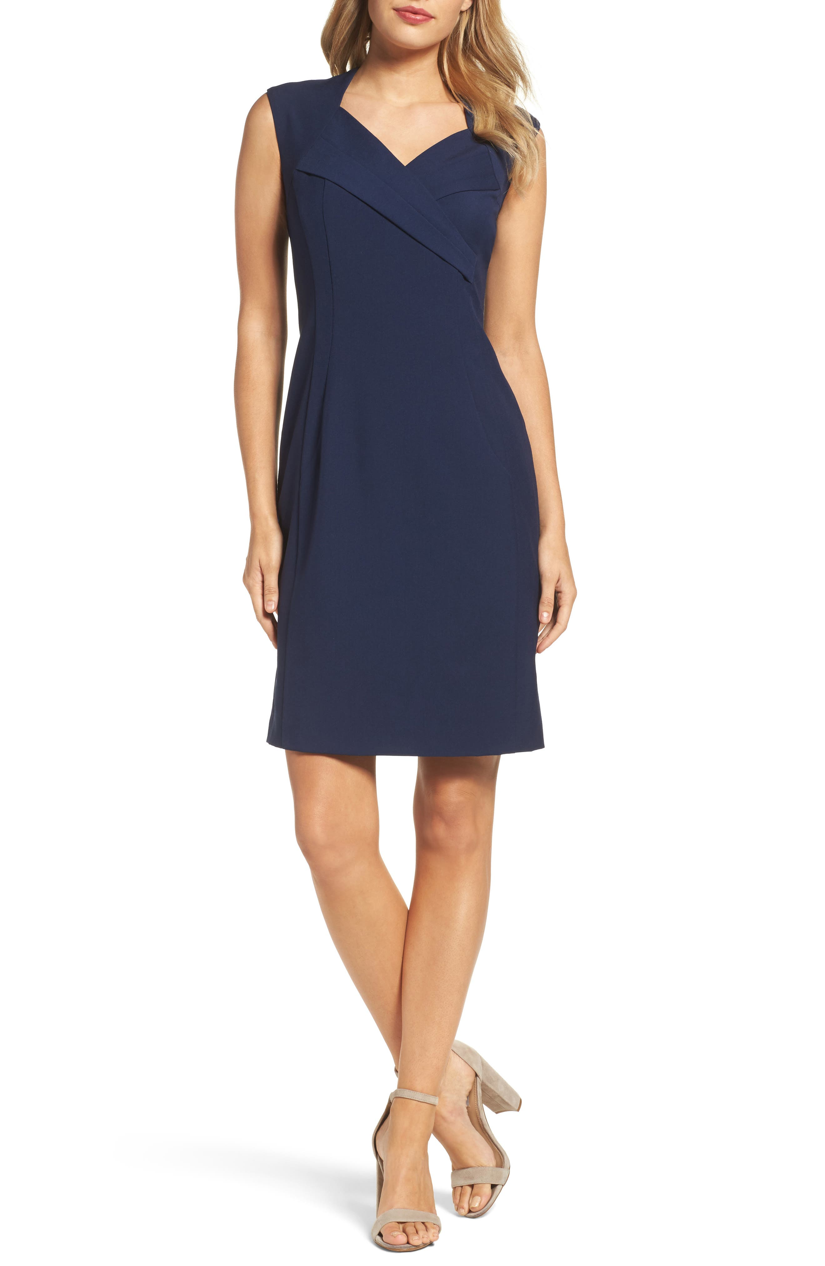 Alternate Image 1 Selected - Ellen Tracy Sheath Dress