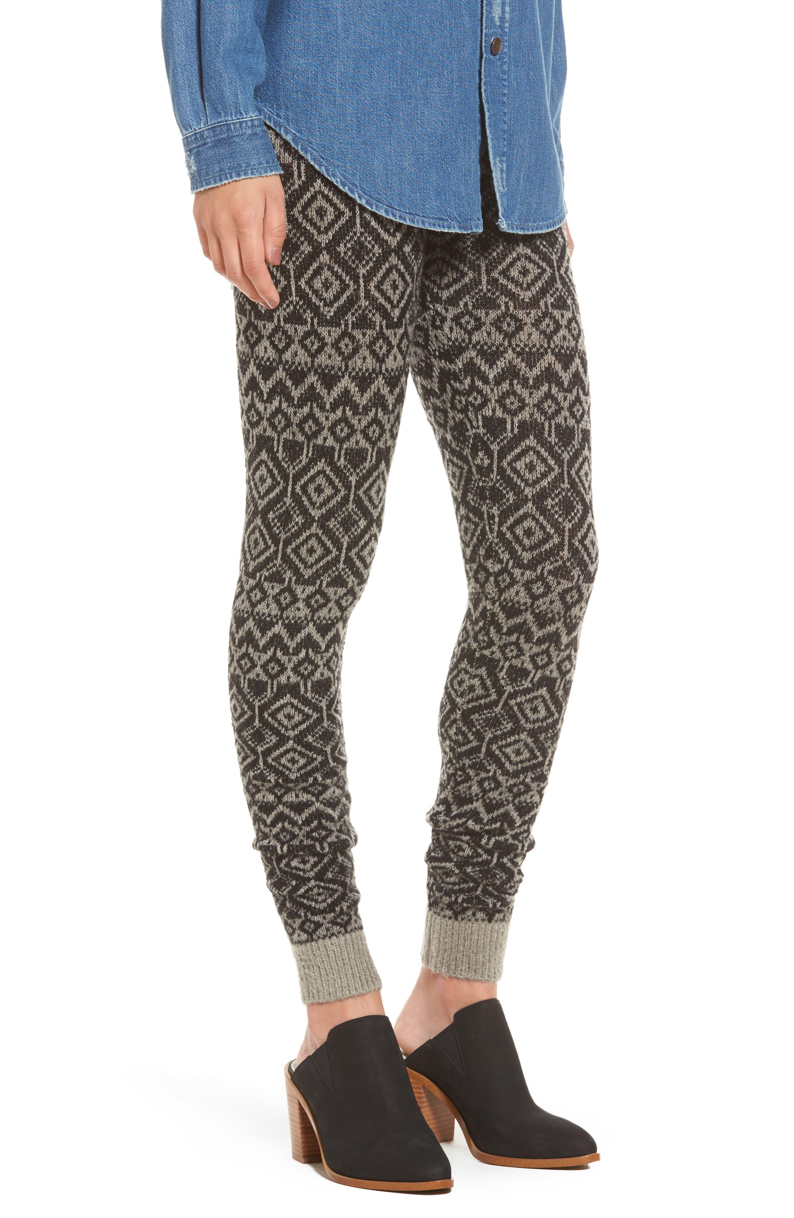 Hue Fair Isle Sweater Leggings