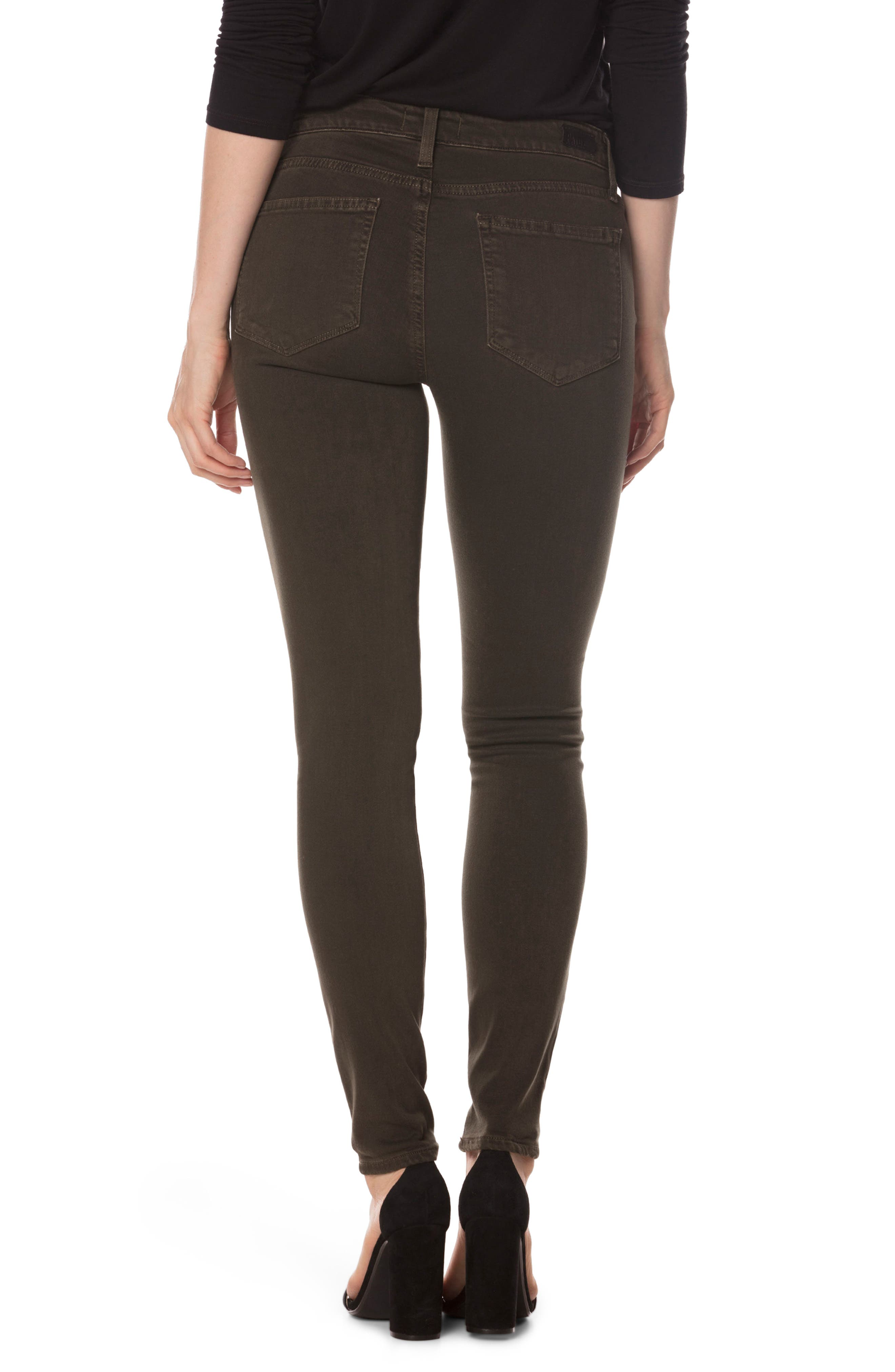 Alternate Image 2  - PAIGE Transcend - Edgemont Ankle Ultra Skinny Jeans