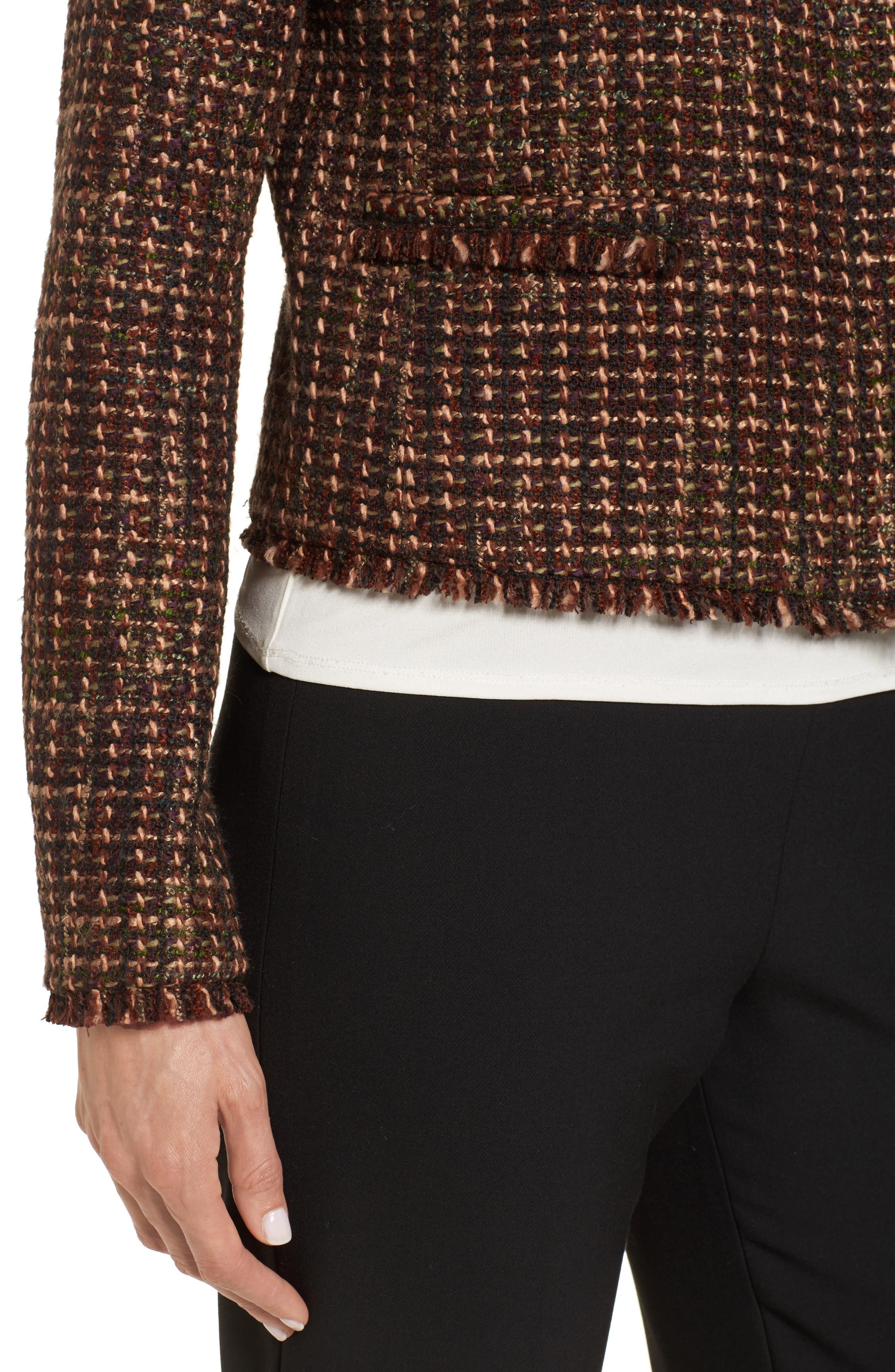 Alternate Image 4  - Emerson Rose Crop Tweed Jacket