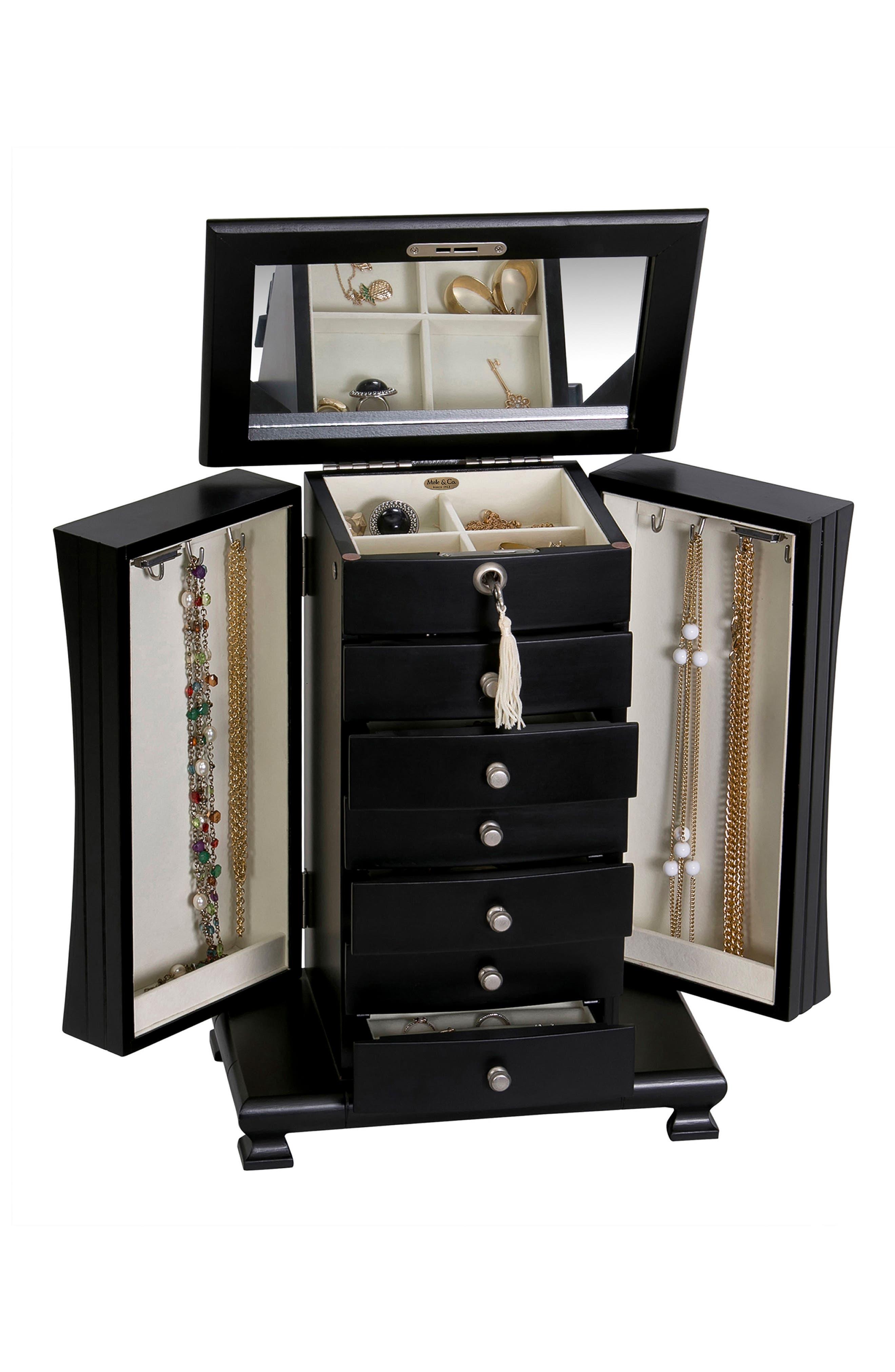 Alternate Image 4  - Mele & Co. Layla Locking Jewelry Box