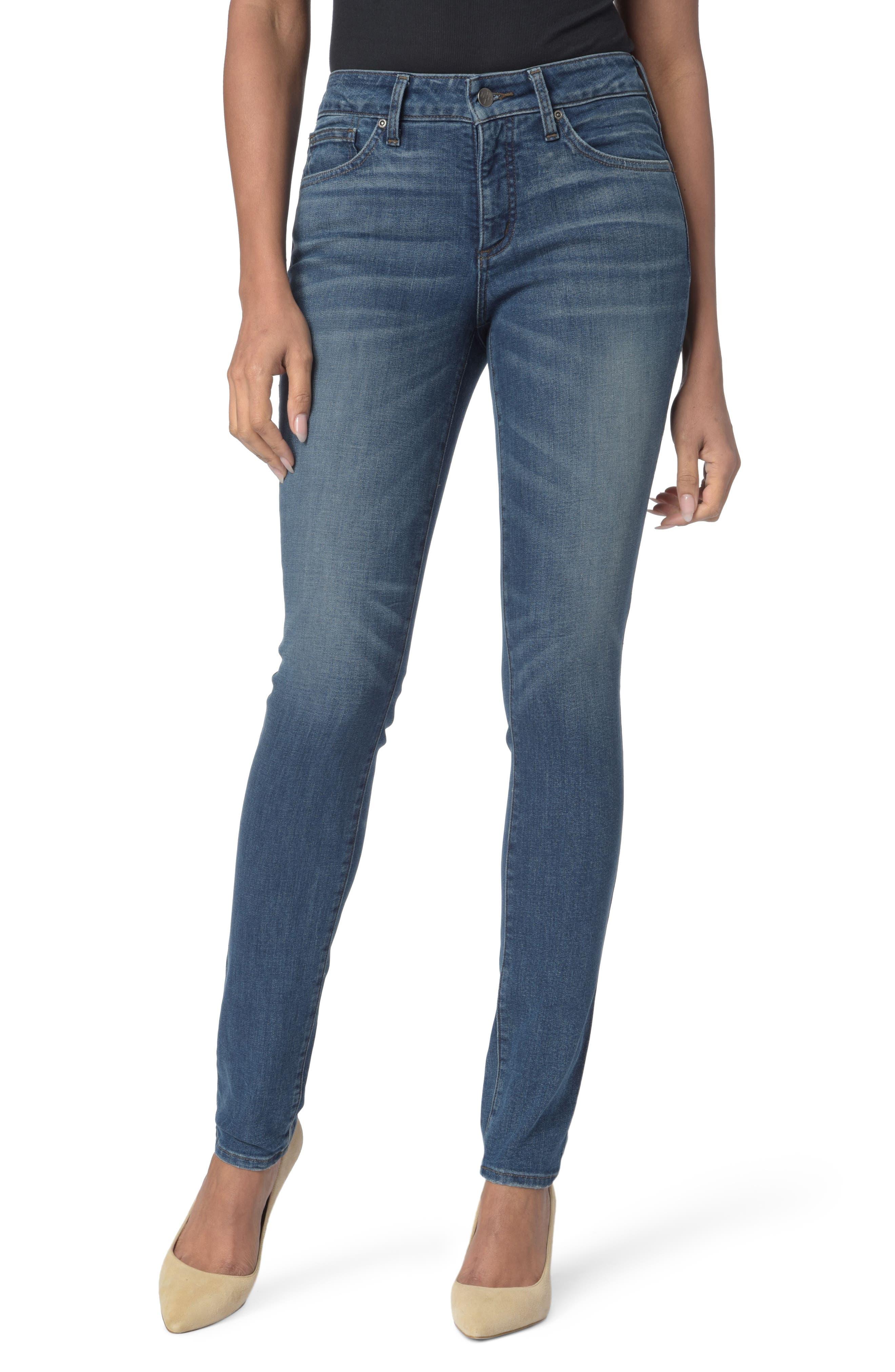 Alina Stretch Skinny Jeans,                         Main,                         color, Noma