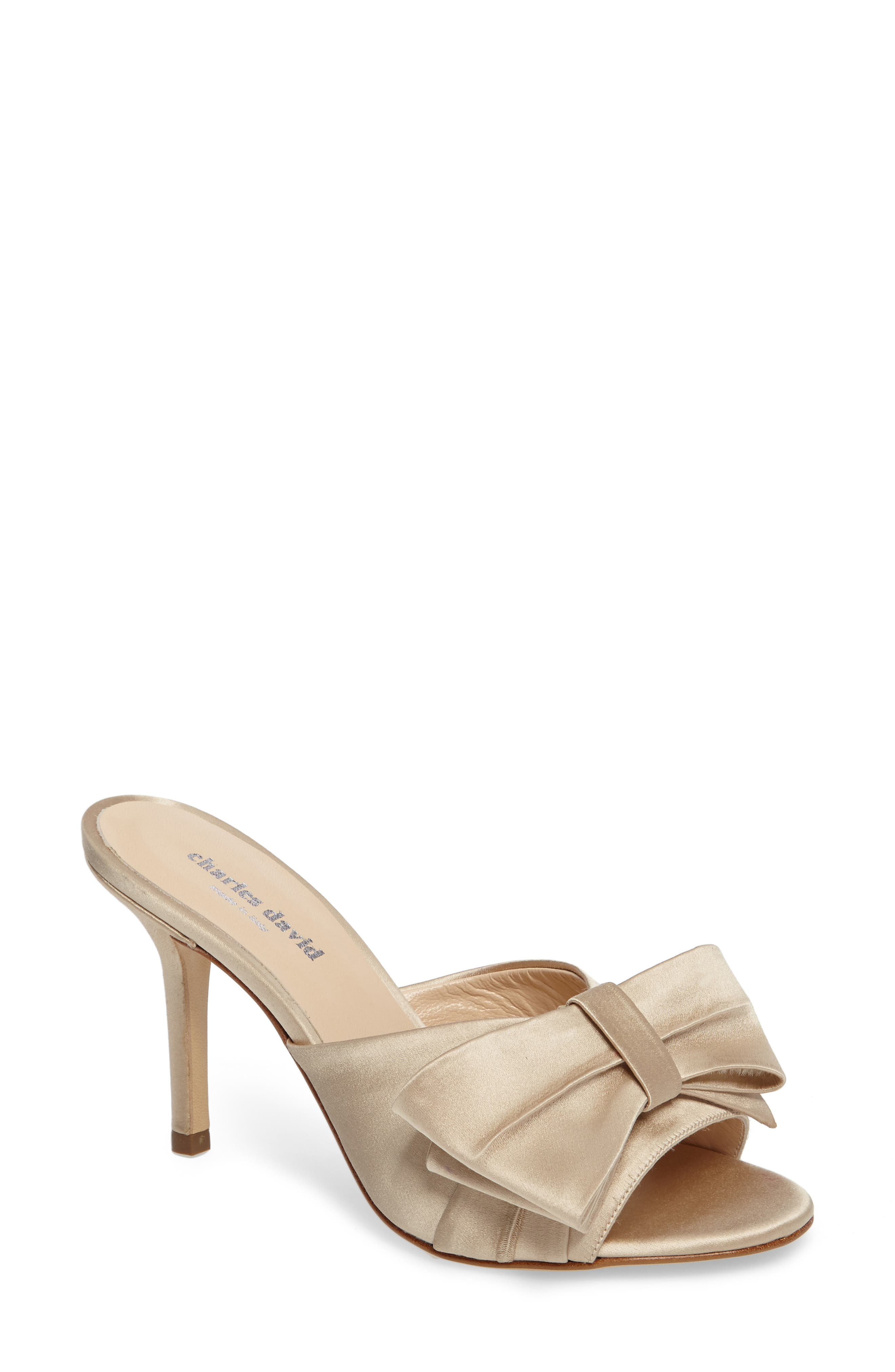 Alternate Image 1 Selected - Charles David Sasha Asymmetrical Bow Mule (Women)